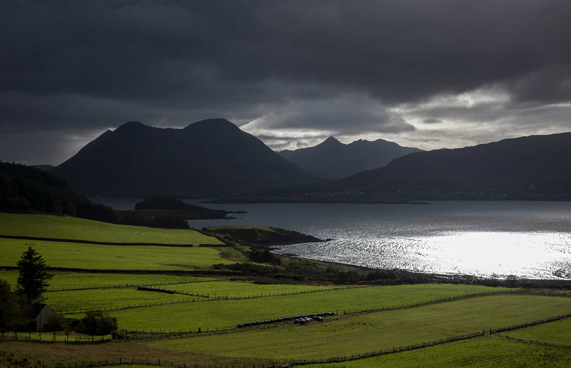Cuillin Range from the Isle of Raasay (Image: Robertsonpr/Shutterstock)