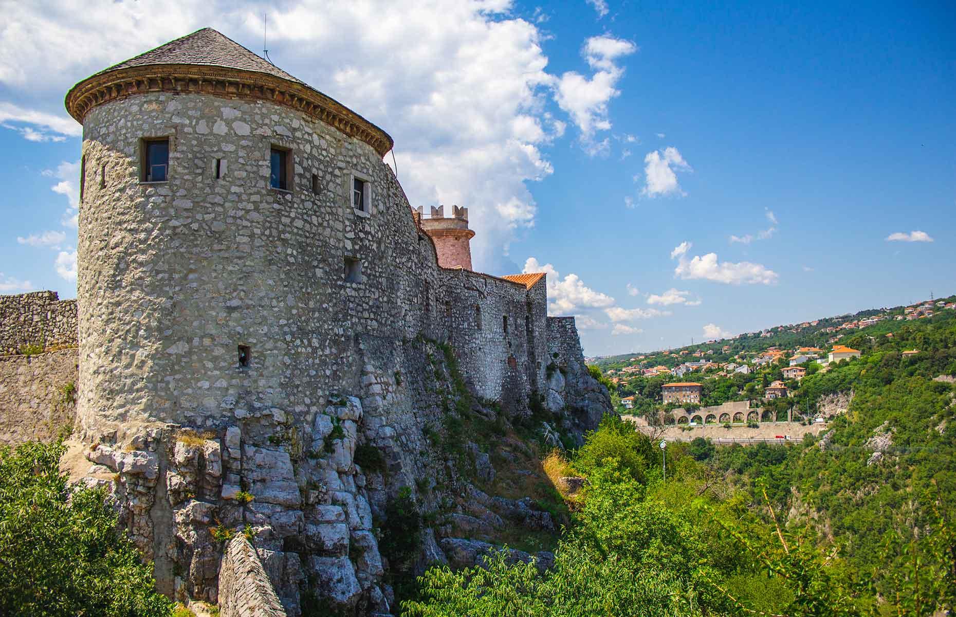 Trsata castle, Rijeka, Croatia (Image: Joppi/Shutterstock)