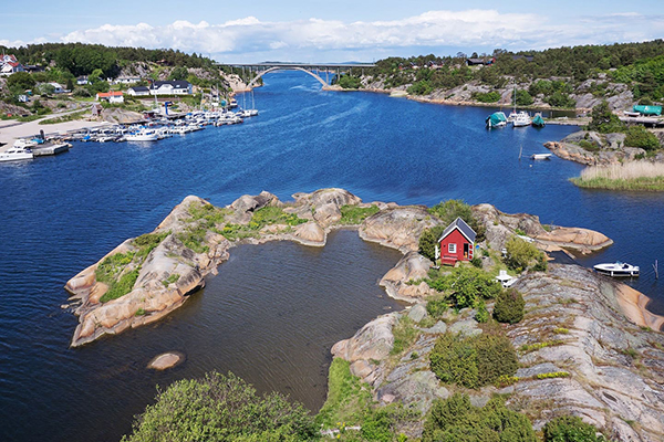 Private island Norway