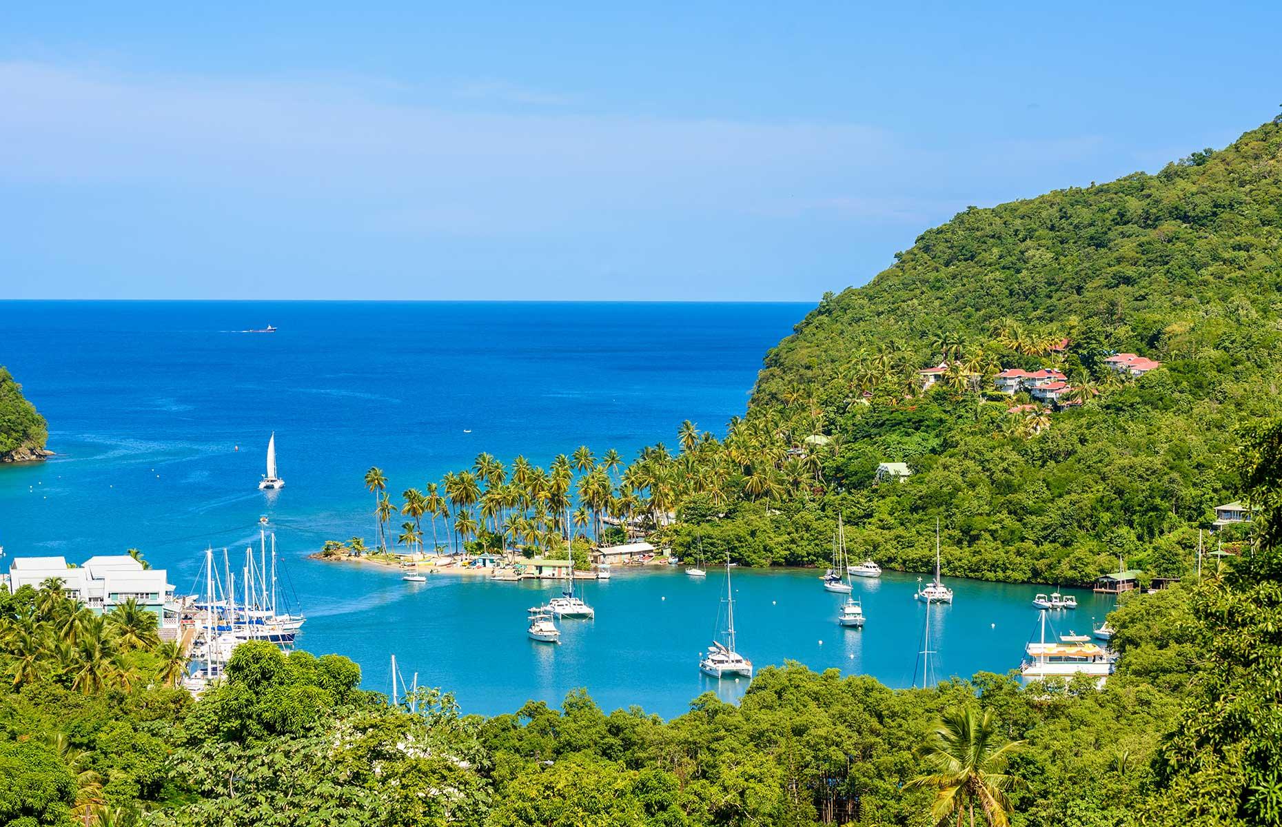 Marigot Bay, Saint Lucia (Image: Simon Dannhauer/Shutterstock)