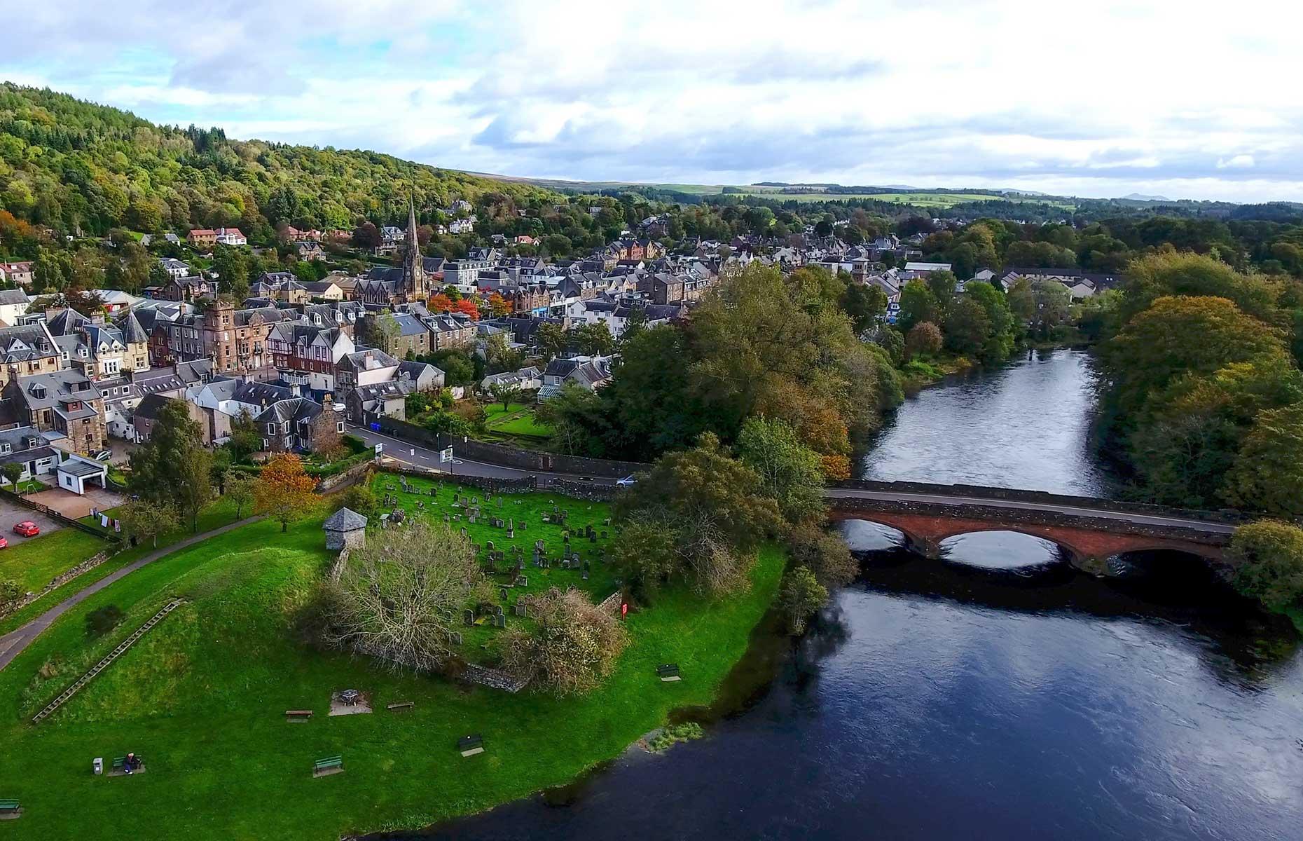 Callander, Scotland (Image: TreasureGalore/Shutterstock)