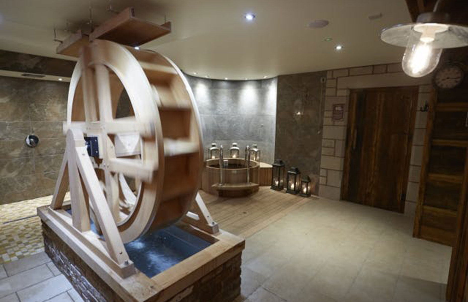 Mill Wheel Spa (Image: Three Horseshoes Country Inn/Secret Escapes)