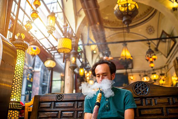 Shisha smoking Istanbul