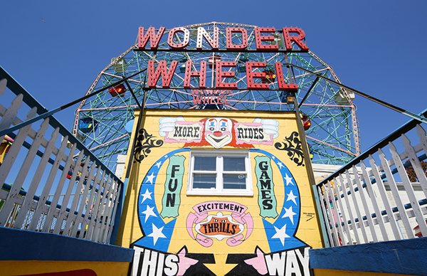 Deno's Wonder Wheel, NYC