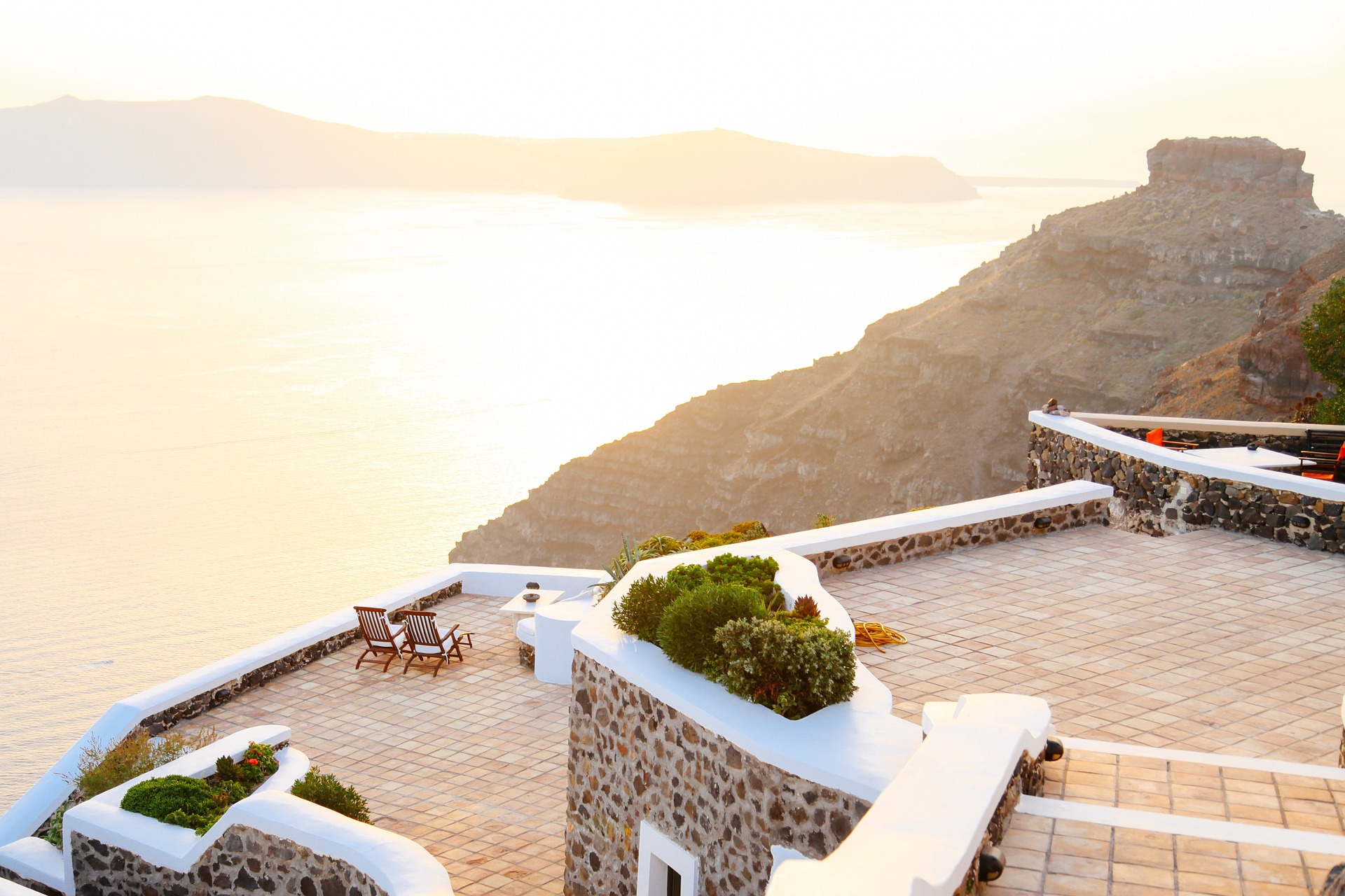 Terrace view, travel