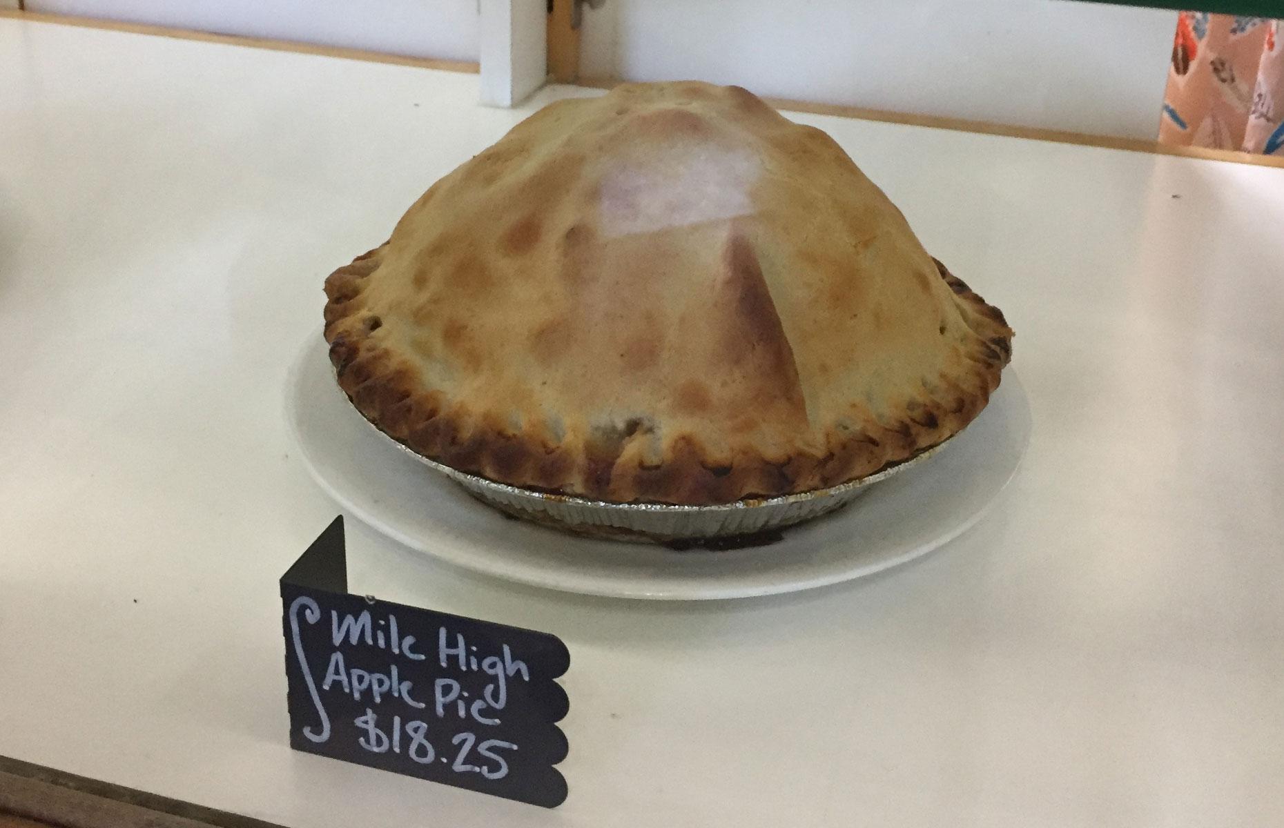 Mile High Apple Pie (Image: Natalie Davies)