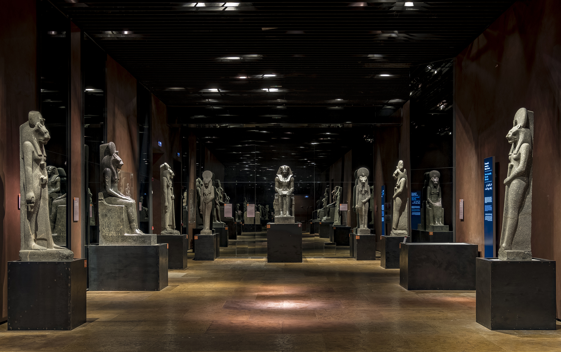 Exhibit at Museo Egizio
