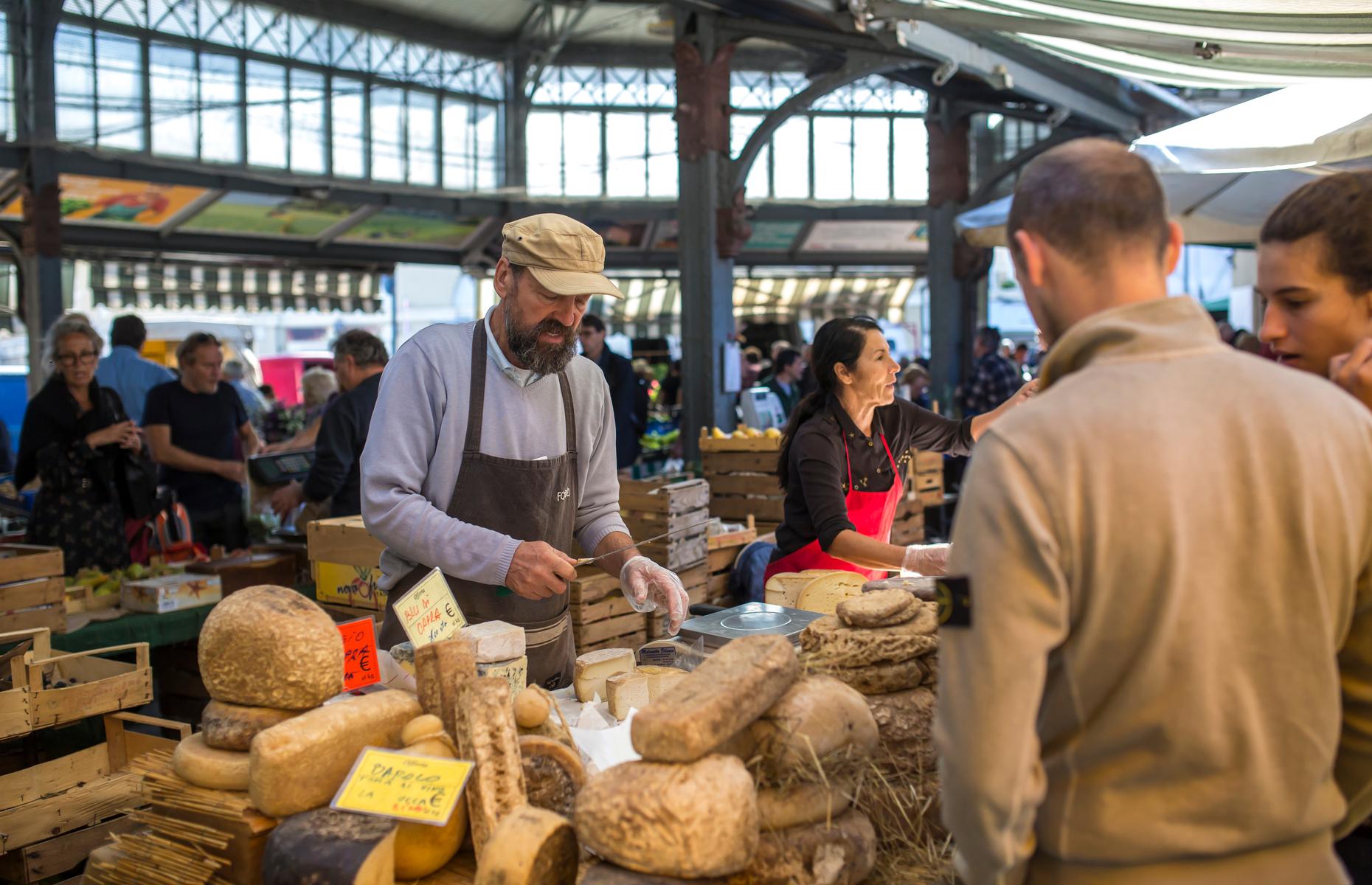Turin food market