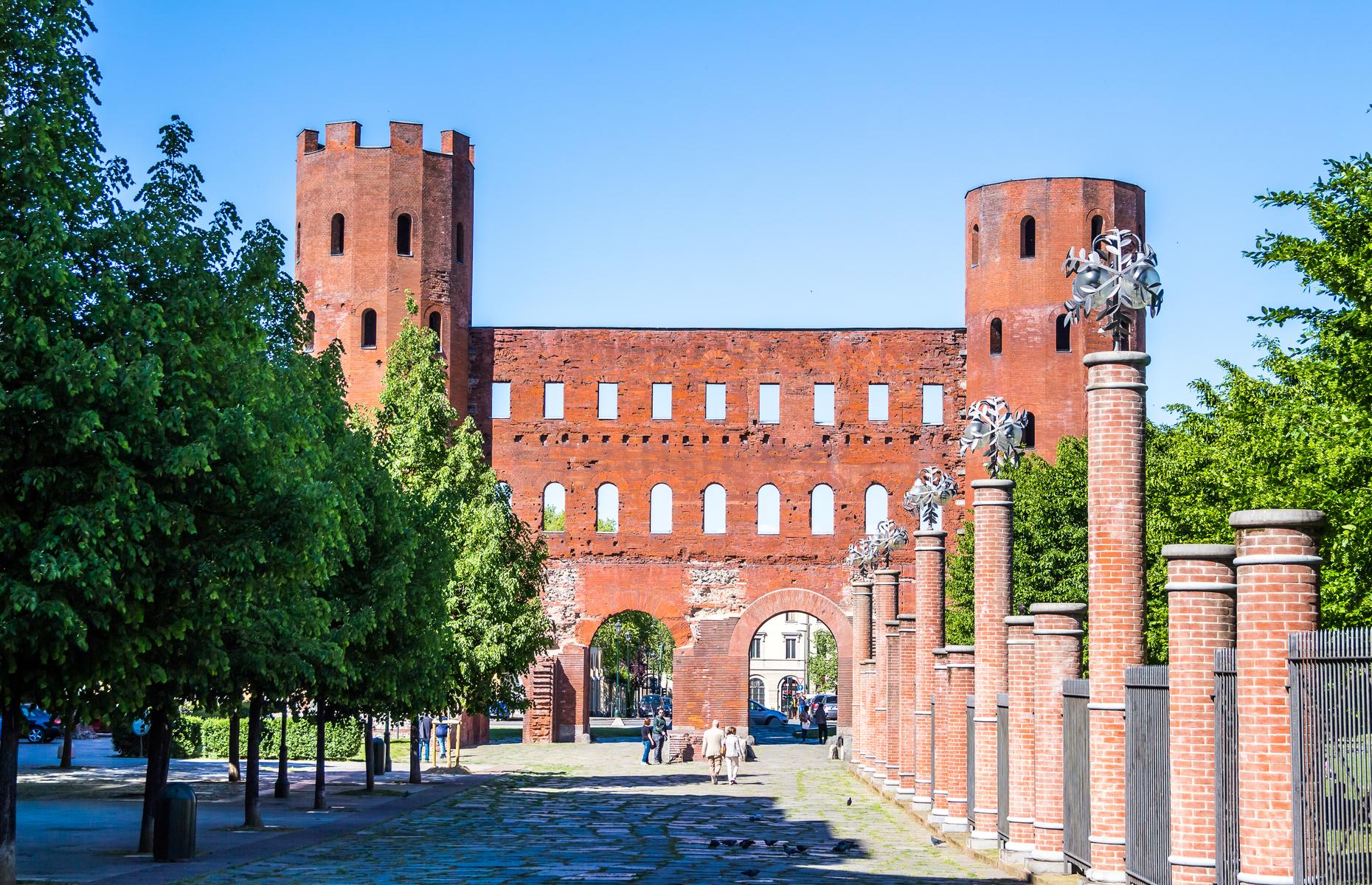 Roman gates Turin