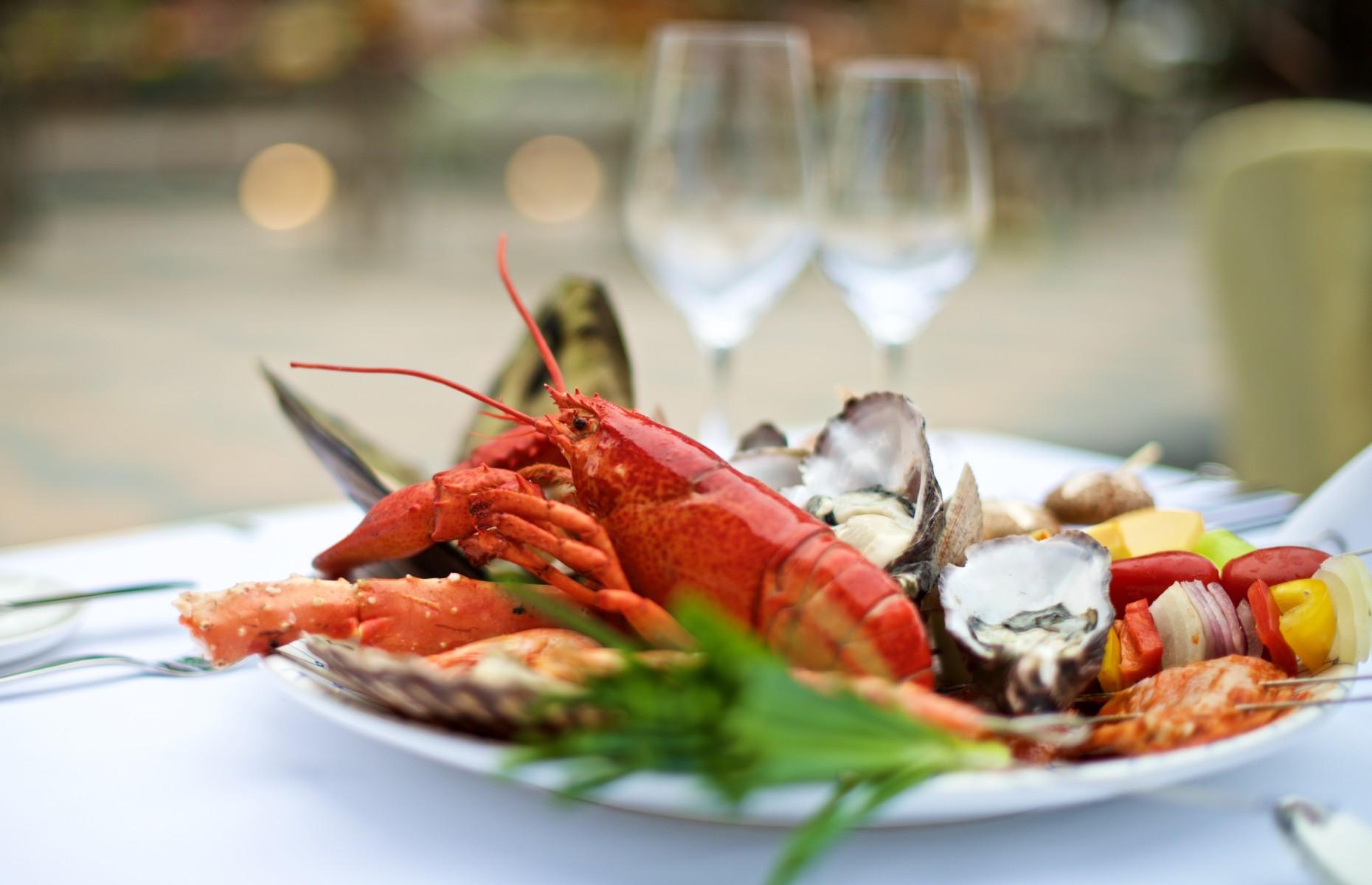Lobster platter (Image: chuckstock/Shutterstock)