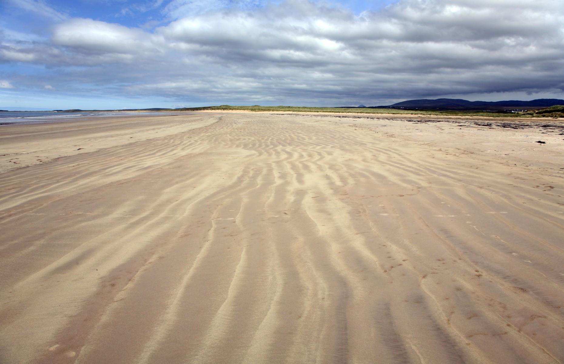 The sands at Laggan Bay (Image: david harding/Shutterstock)