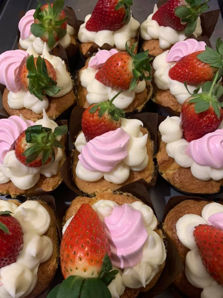 Cheesecake muffins at Sanctuary on the Bail (Image: Sanctuary on the Bail/Facebook)