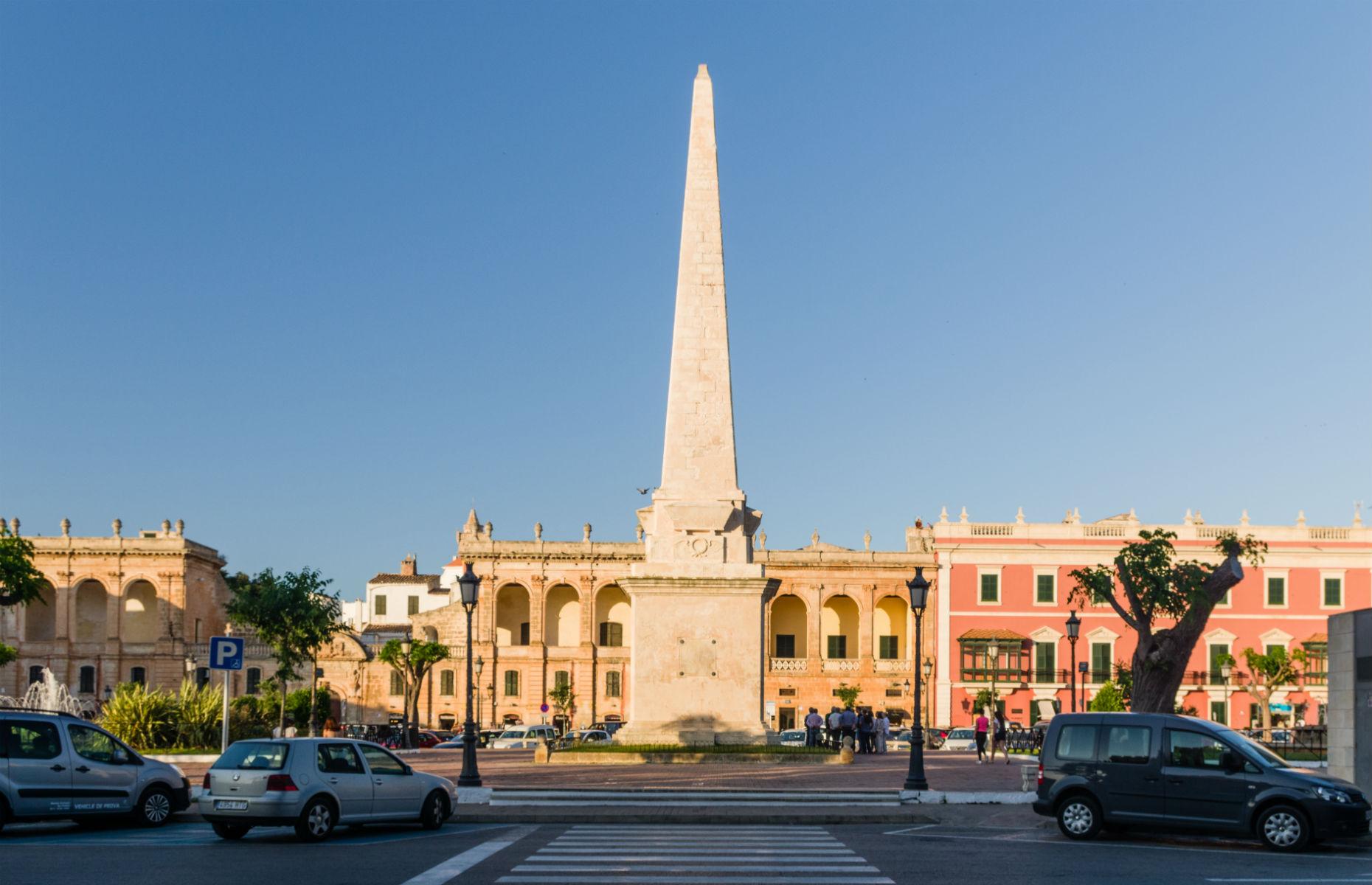obelisk in Ciutadella