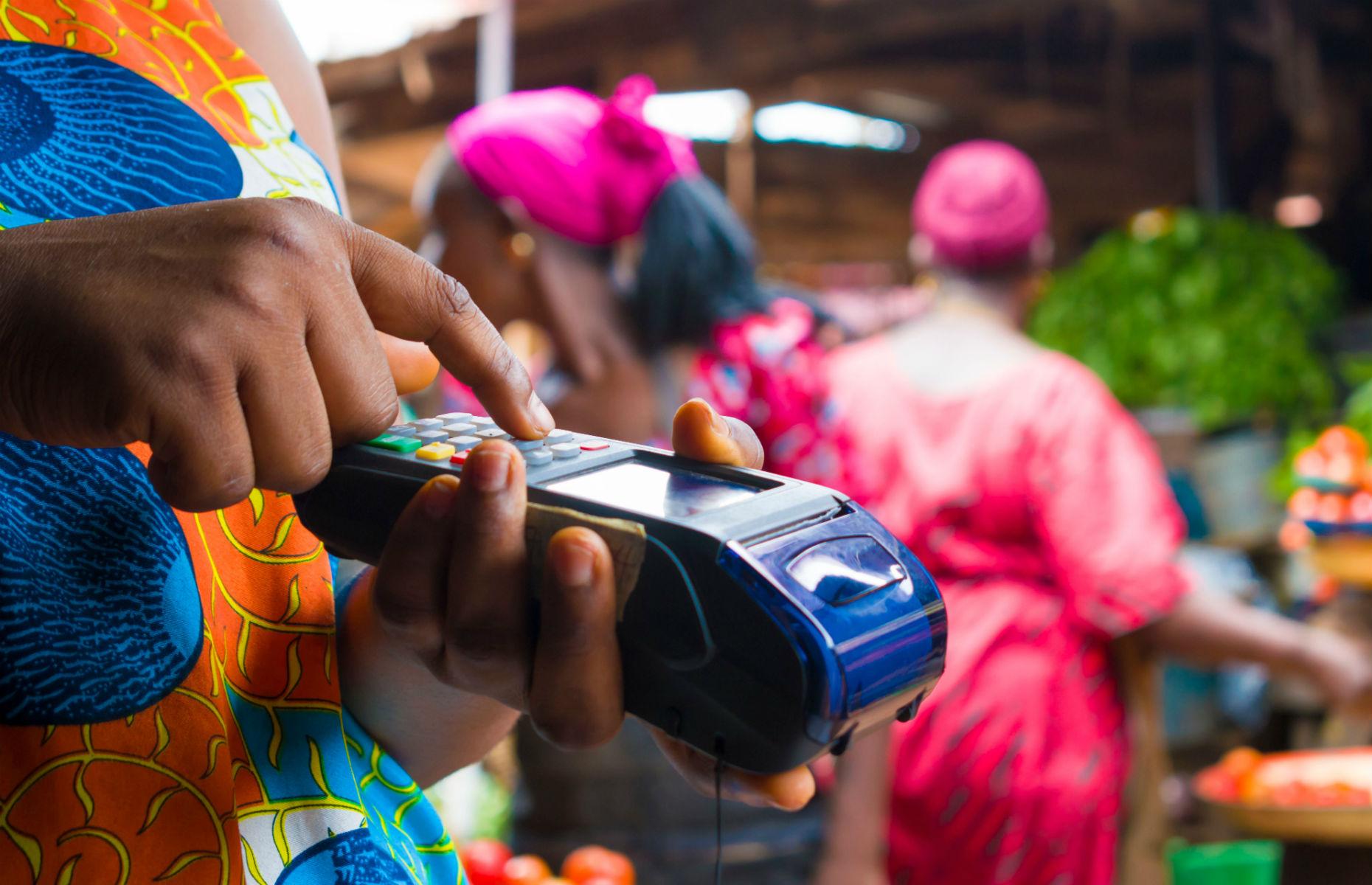 credit card machine in African market
