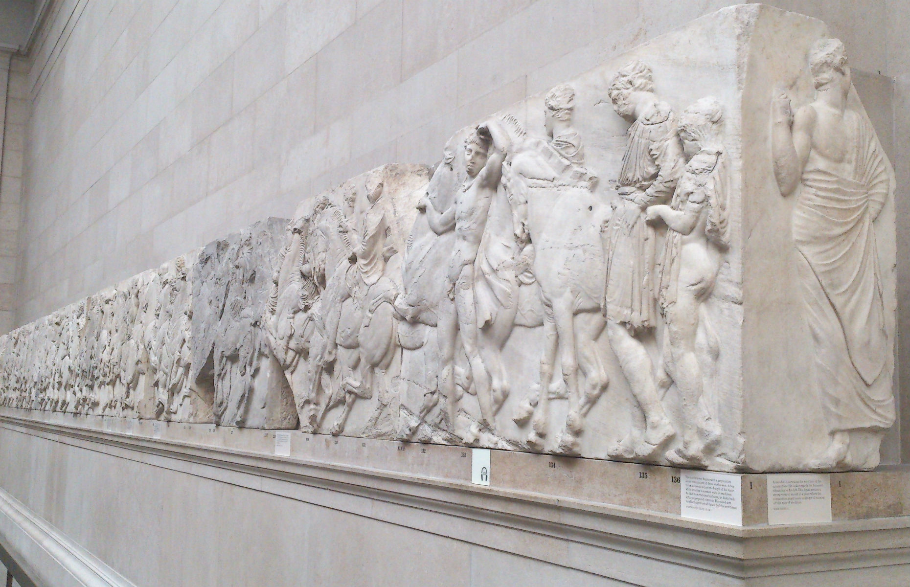 The Elgin Marbles (Image: CJYOUNG/Shutterstock)