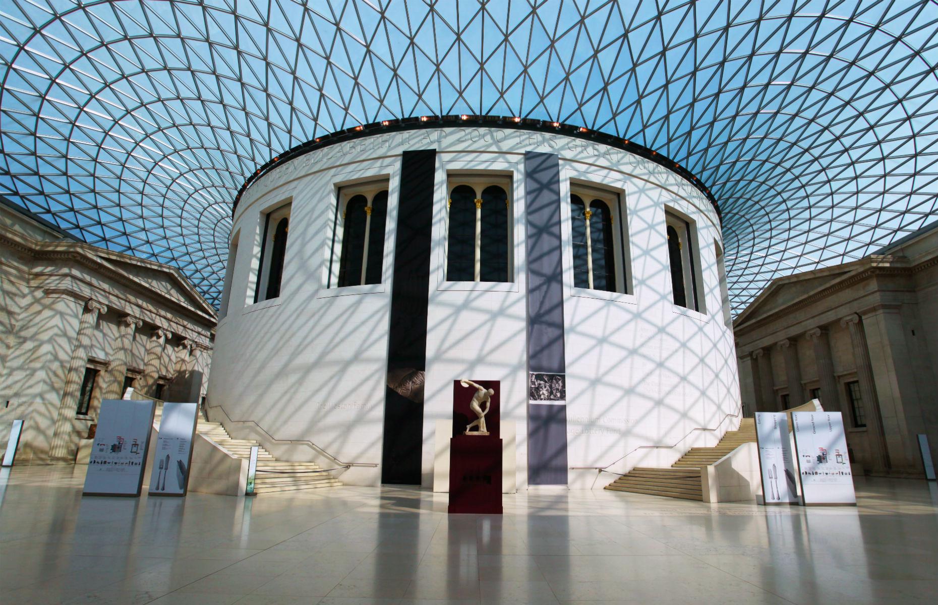British Museum exterior (Image: Dan Breckwoldt/Shutterstock)