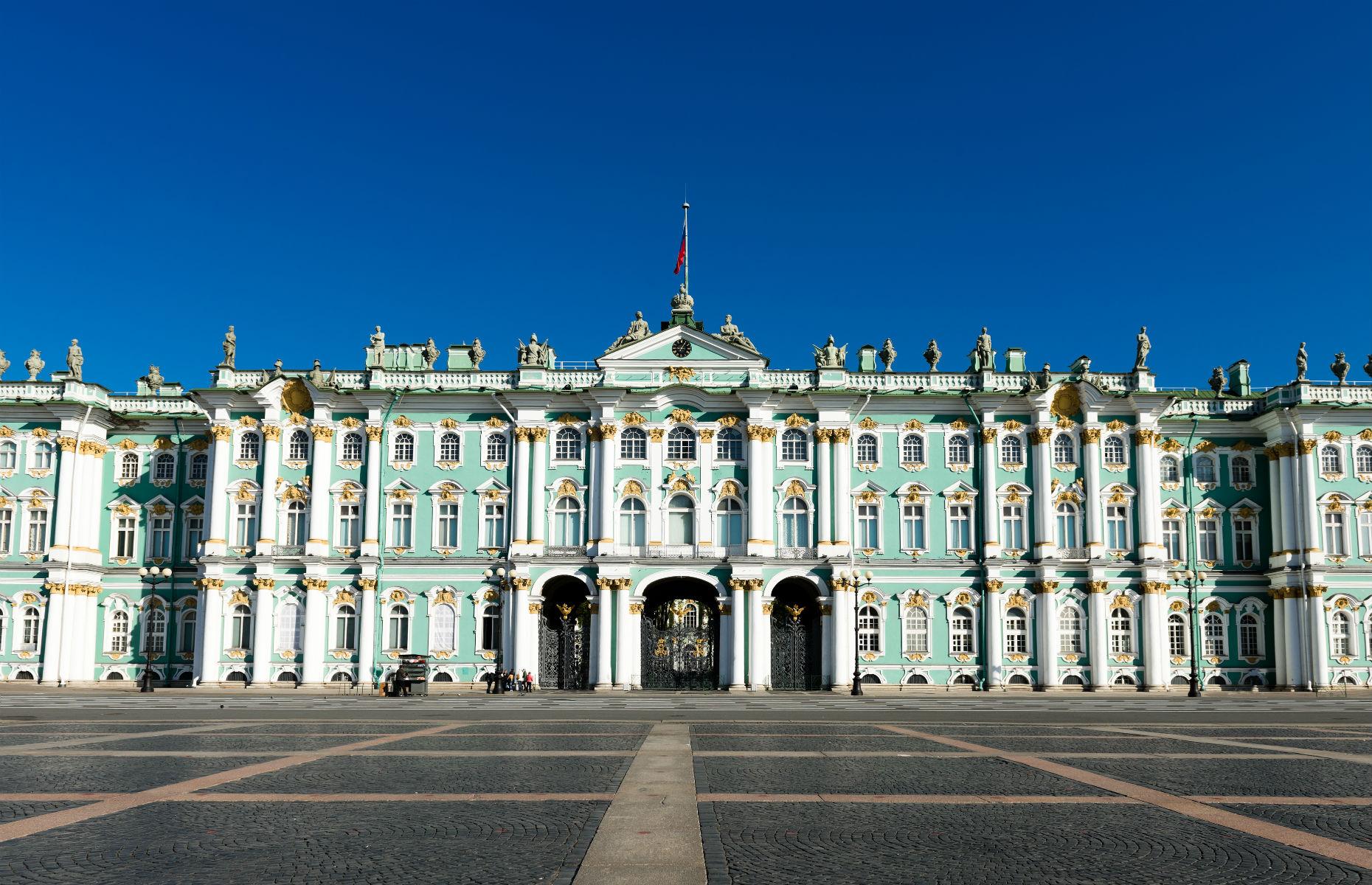 Hermitage Museum exterior (Image: Valeri Potapova/Shutterstock)