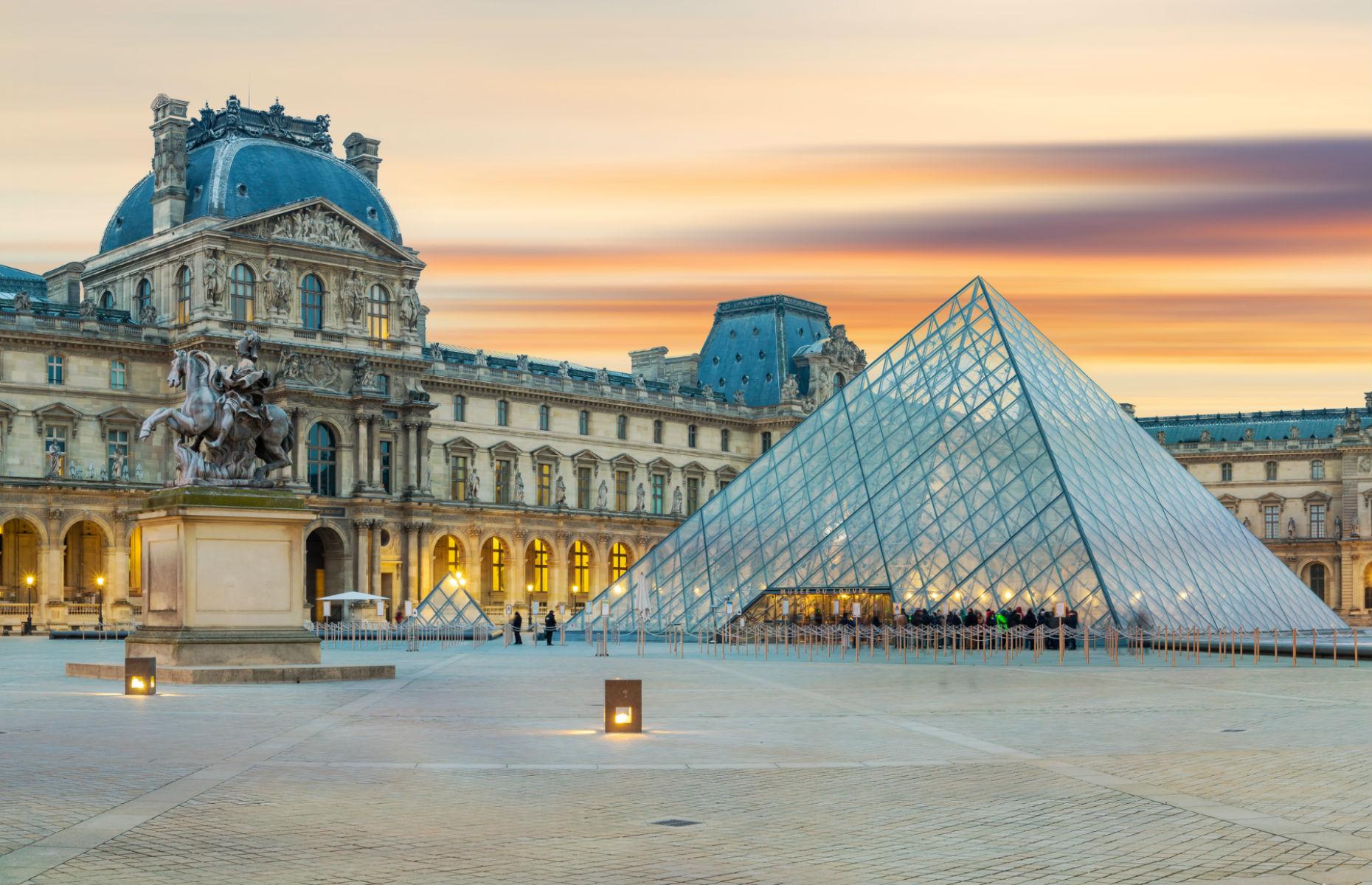 Louvre exterior (Image: Netfalls Remy Musser/Shutterstock)