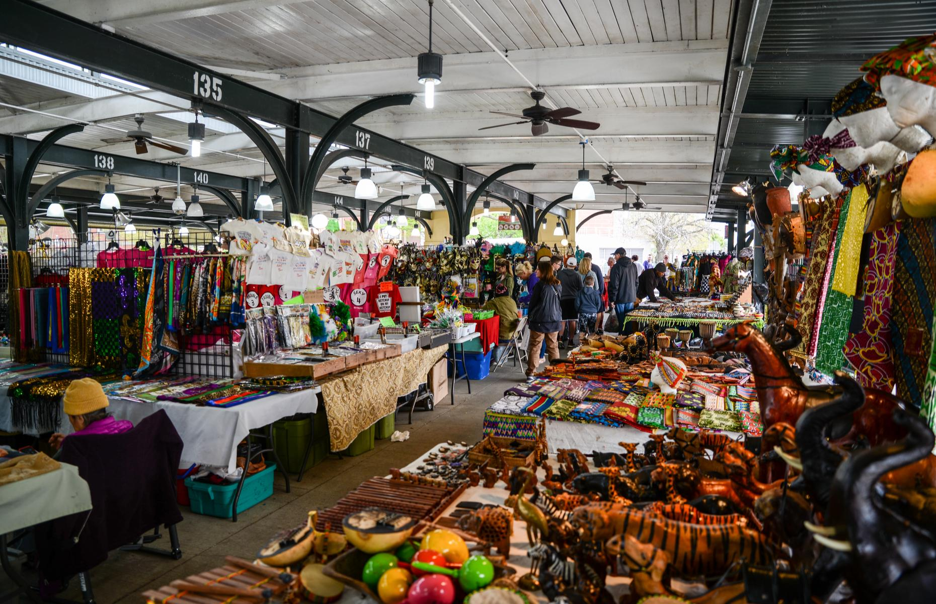 French Market in New Orleans (image: Suzanne C. Grim/Shutterstock)