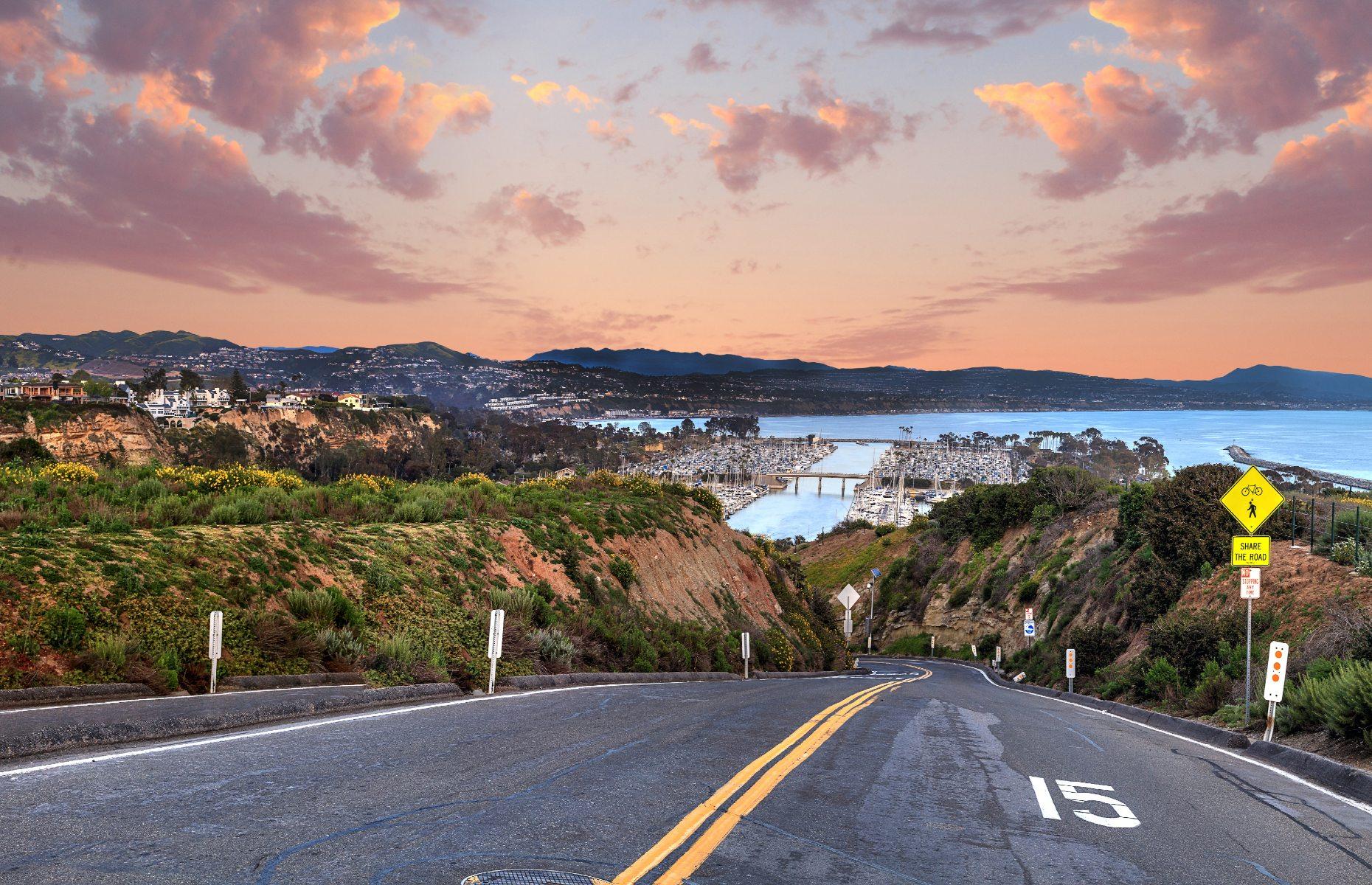 Road to Dana Point (Image: SunflowerMomma/Shutterstock)
