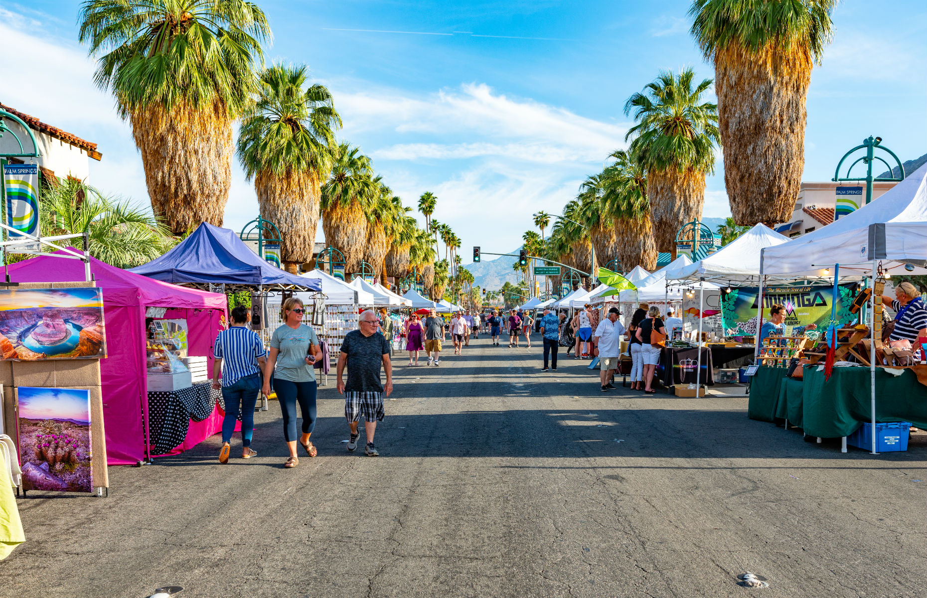 Street fair Palm Springs