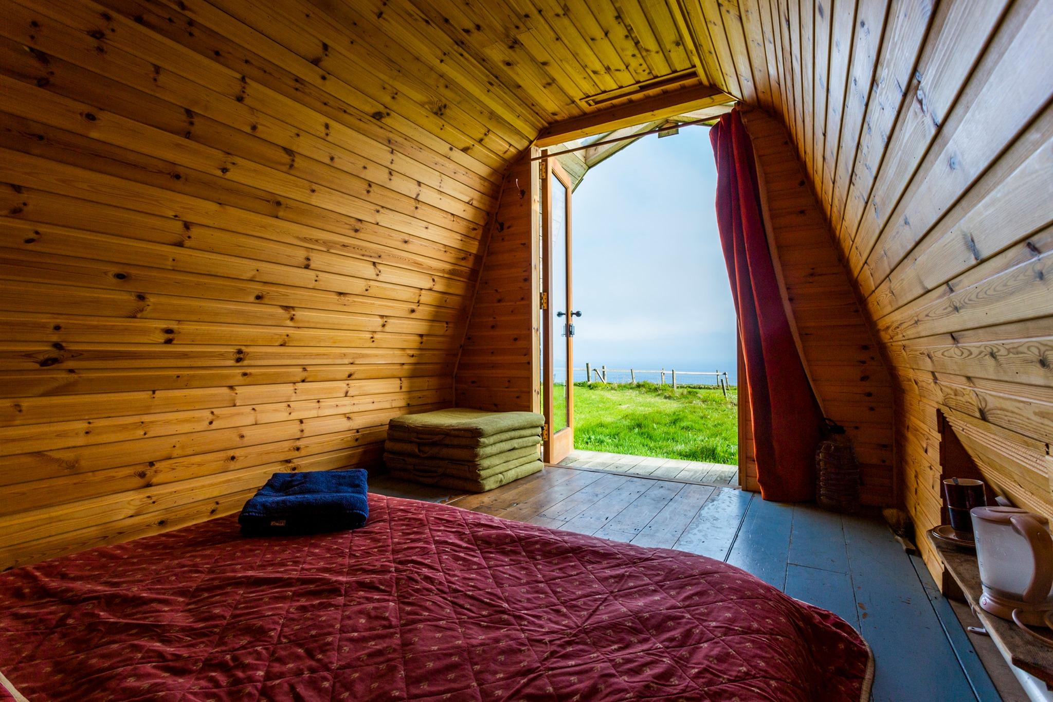 Wheems Organic Farm glamping cabin (Image: Wheems Organic Farm Campsite & Eco Cabins/Facebook)