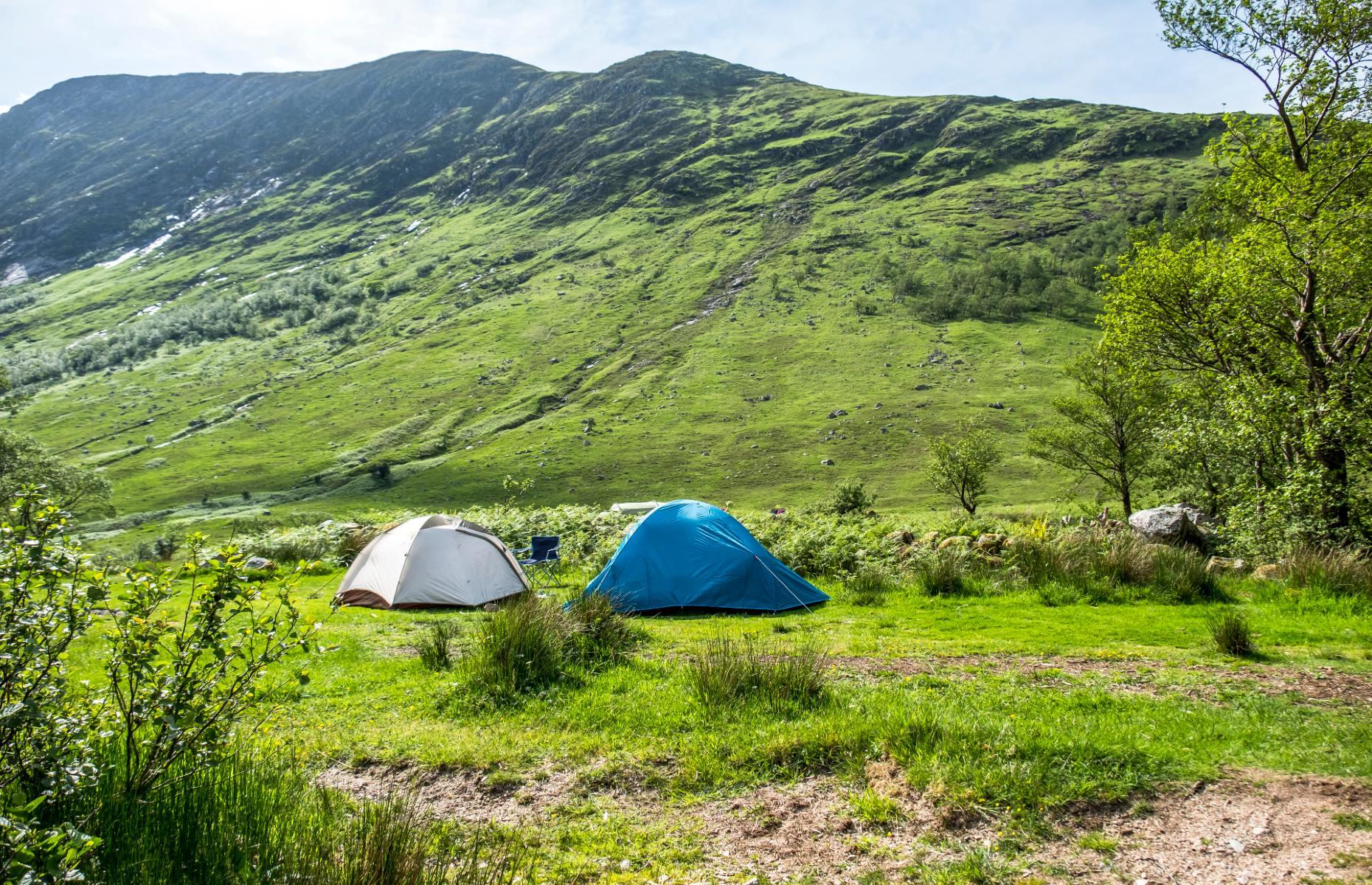 Wild camping in Scotland (Image: Lukassek/Shutterstock)