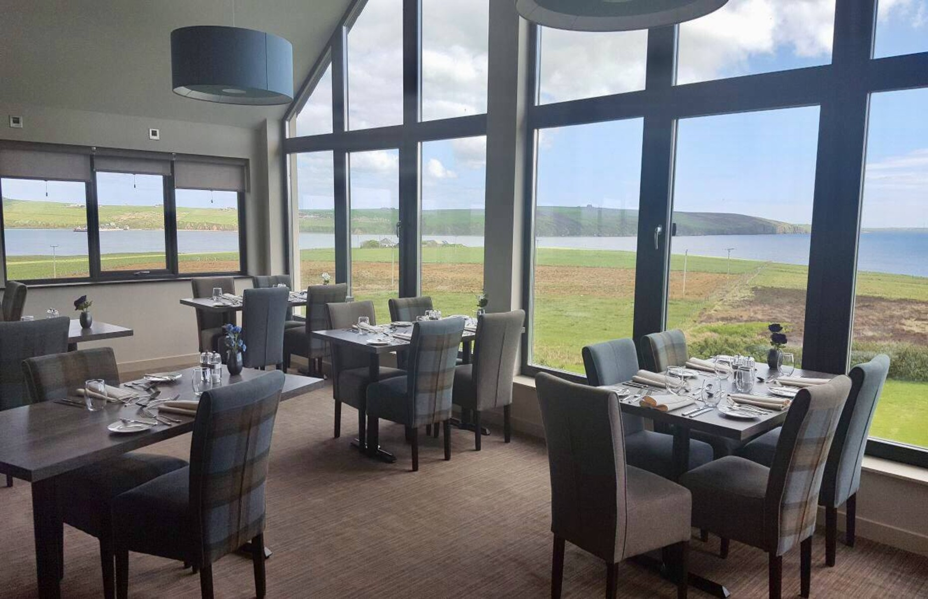 The Foveran showing sea views from the dining room (Image: The Foveran Restaurant with Rooms/Facebook)