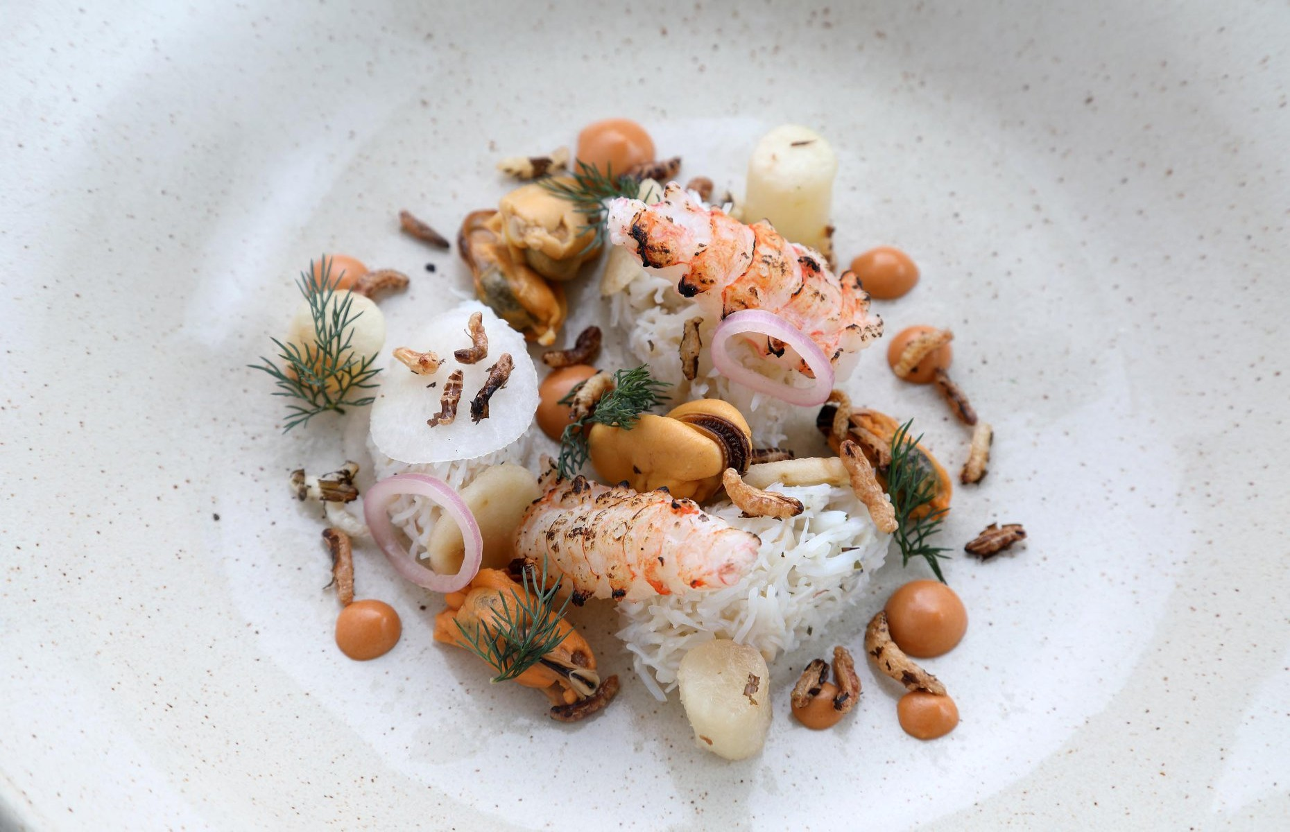A plate packed with seafood at The Three Chimneys restaurant (Image: The Three Chimneys/Facebook)