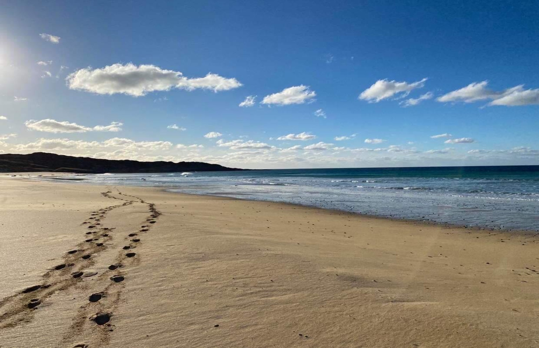 A beach in Coll (Image: Coll Hotel/Facebook)