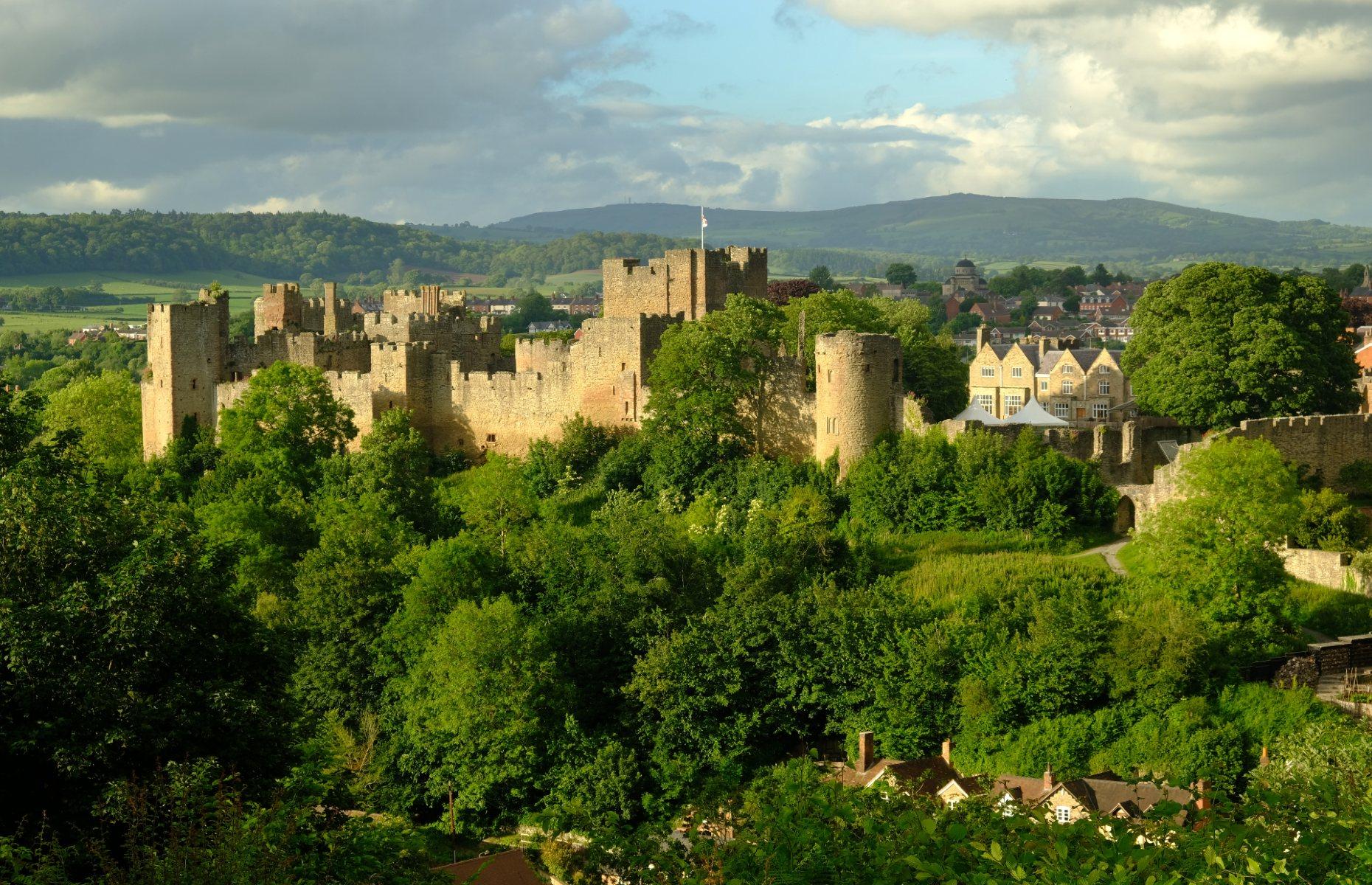 Ludlow Castle (Image: Richard Hayman/Shutterstock)