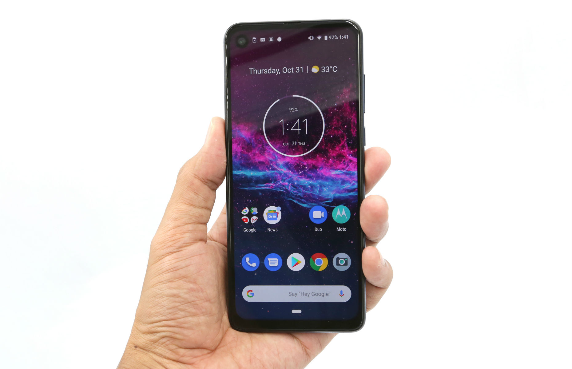 Motorola One Action phone