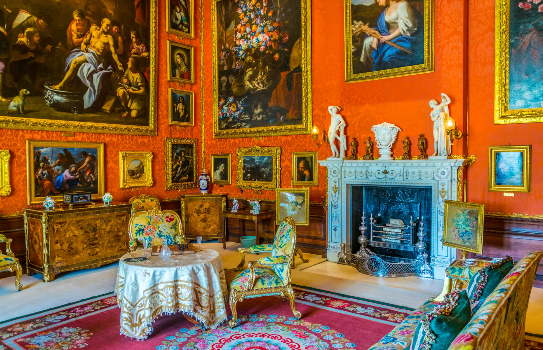Burghley House interior (Image: trabantos/Shutterstock)