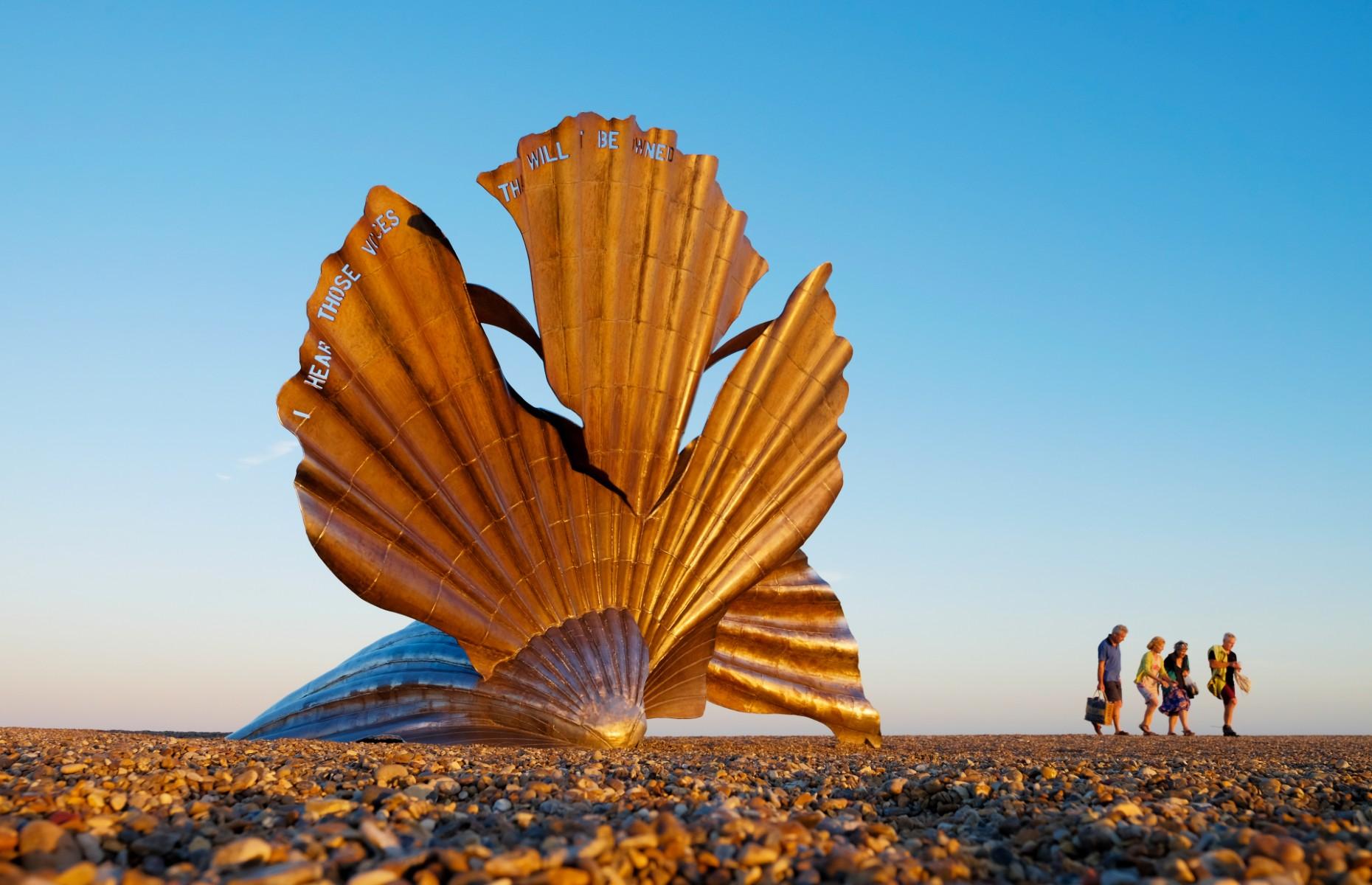 The scallop sculpture (Image: David Calvert/Shutterstock)