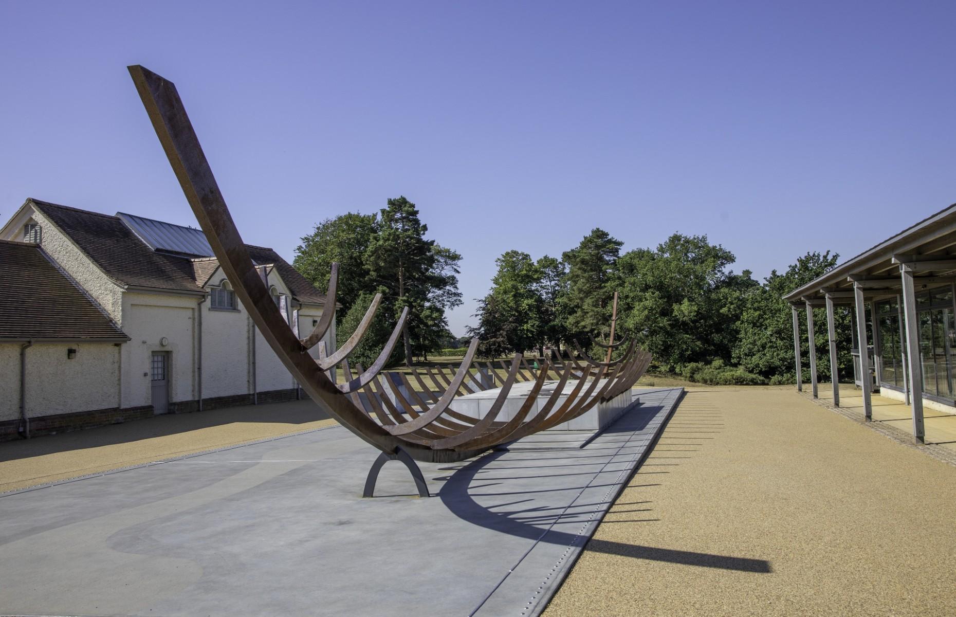 Longboat replica at Sutton Hoo (Image: Wirestock Creations/Shutterstock)
