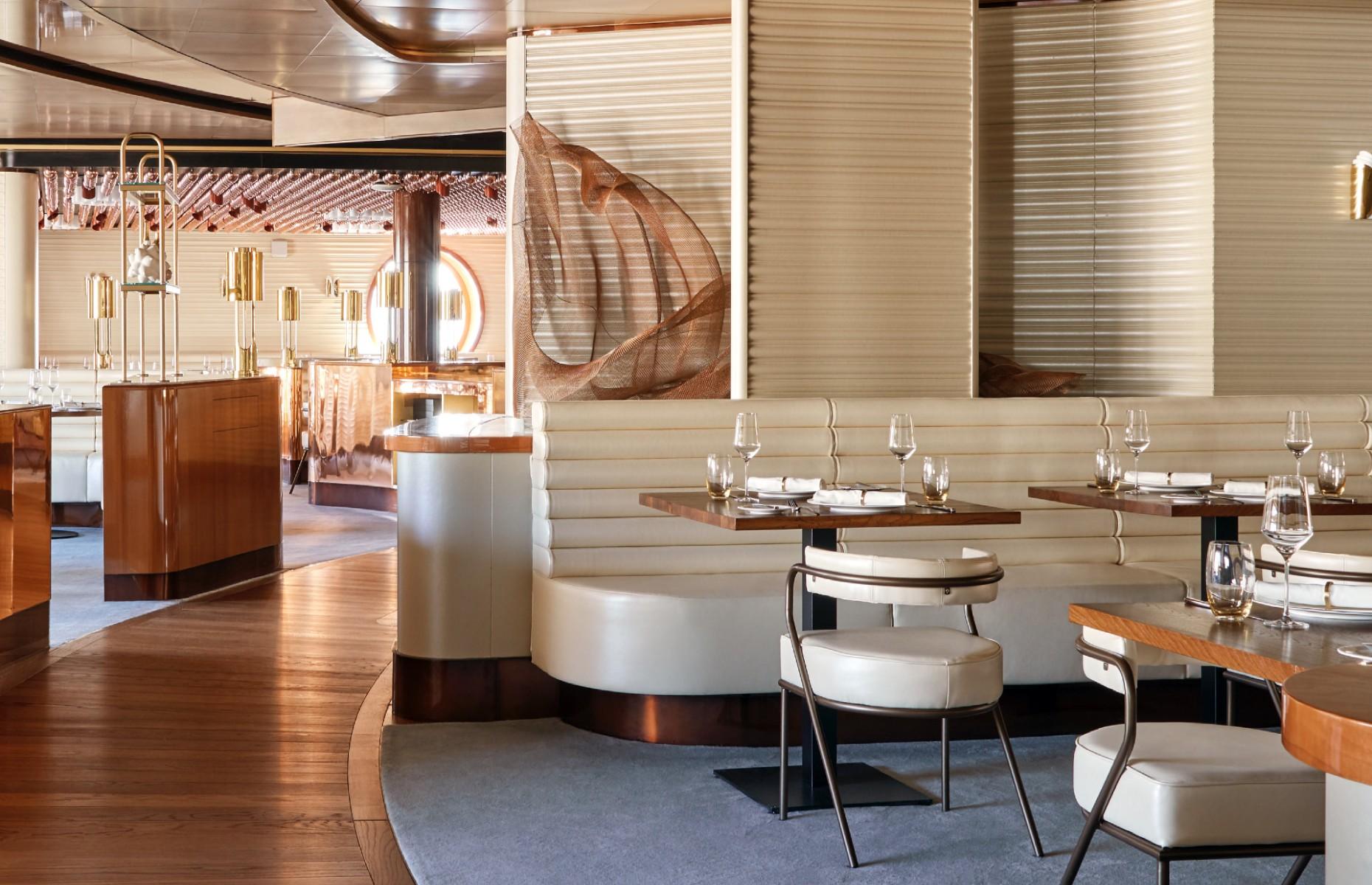 The Wake restaurant (Image: Virgin Voyages)