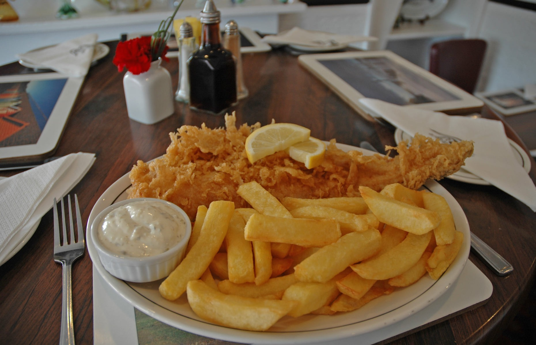 Fish and chips at the Magpie Cafe (Image: The Magpie Cafe/Facebook)