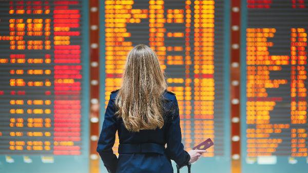 Flgith departure board