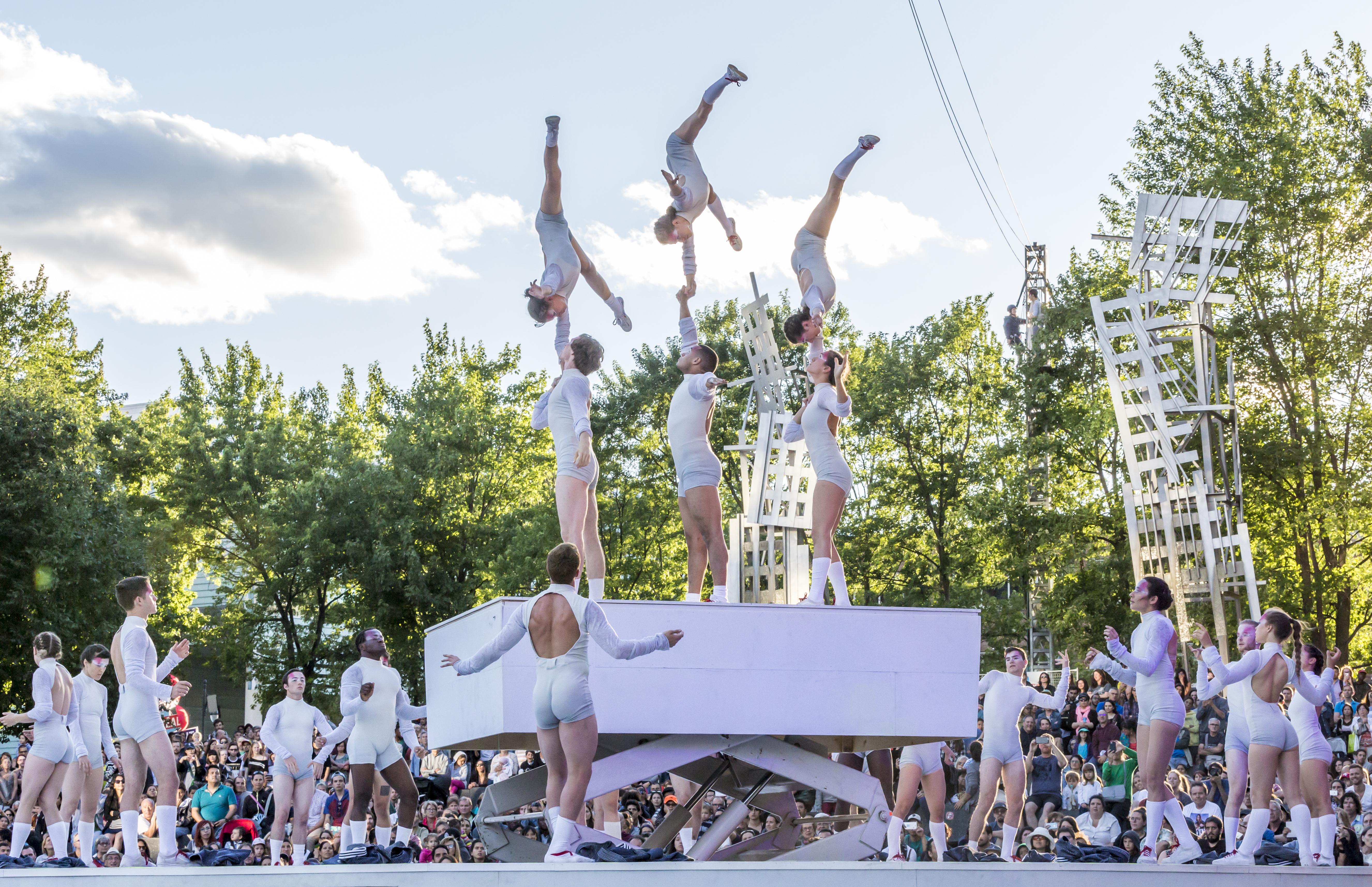 Montreal circus festival