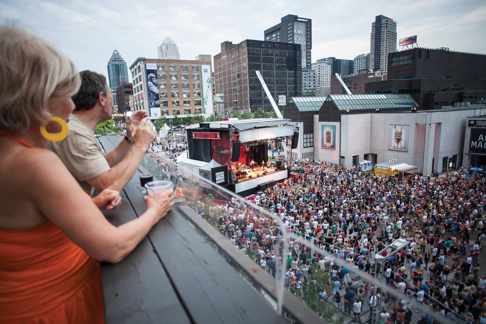 Jazz festival in Montreal