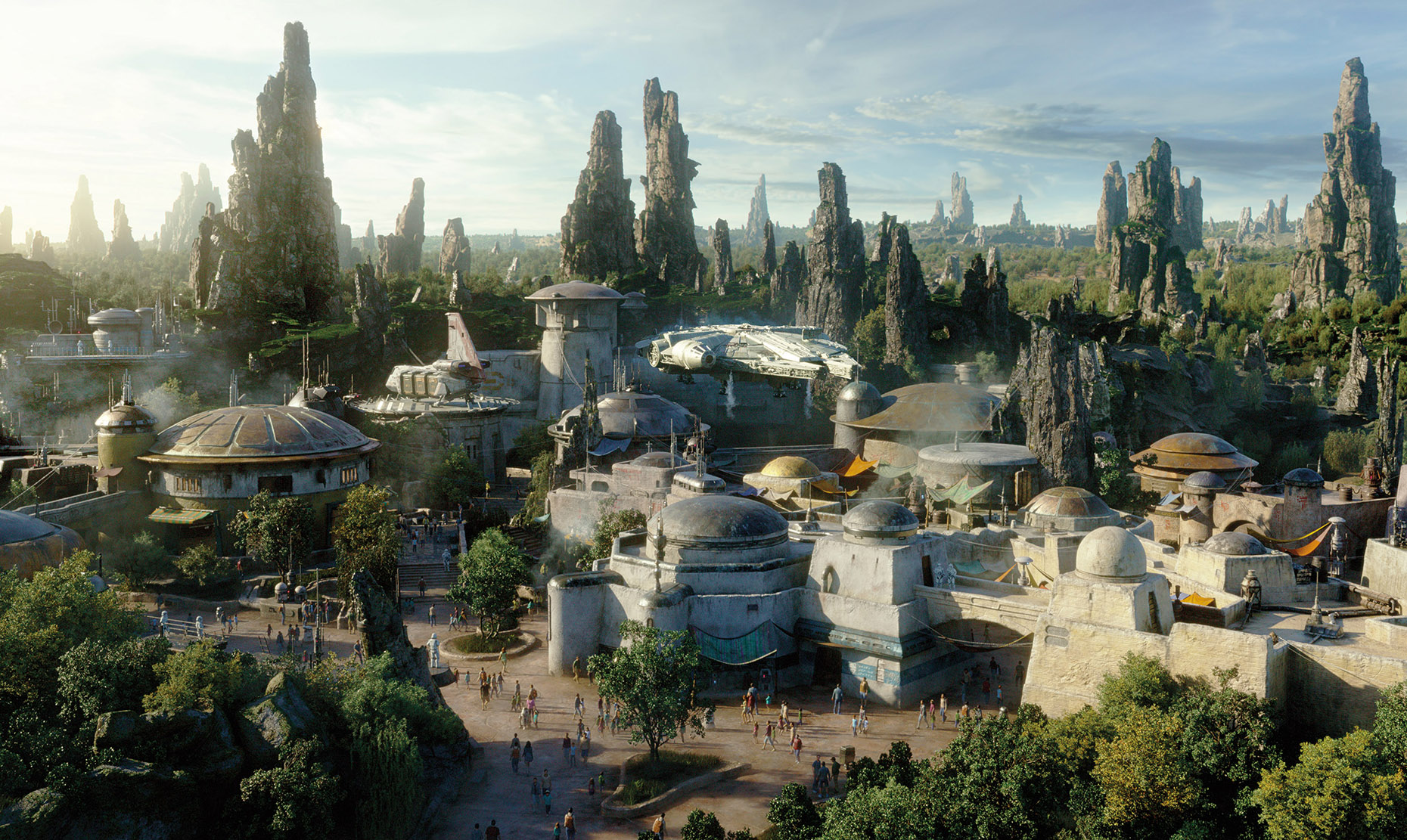 Star Wars Galaxy Edge park