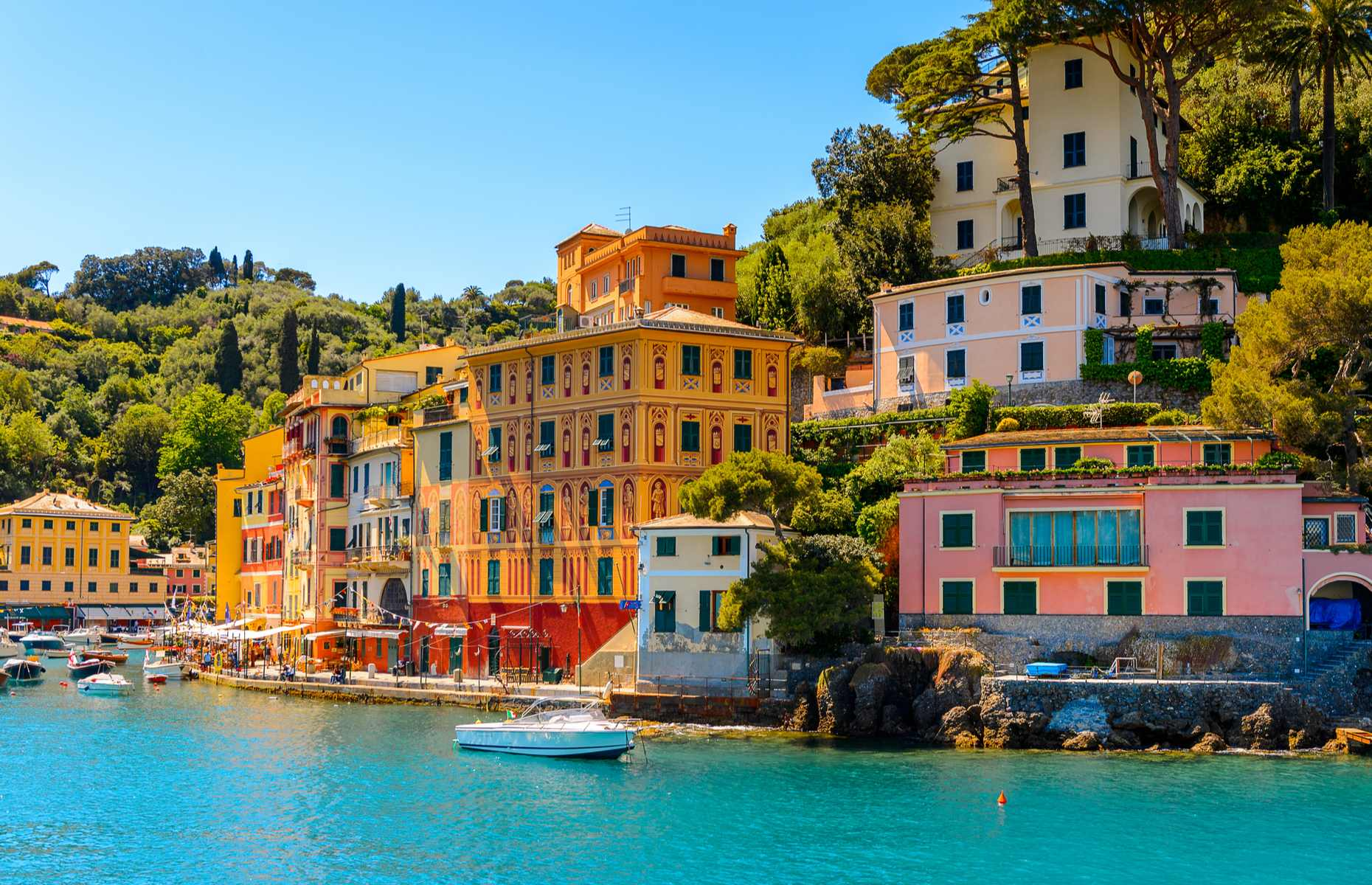 Portofino fishing village in Italy (image: Anton_Ivanov/Shutterstock)