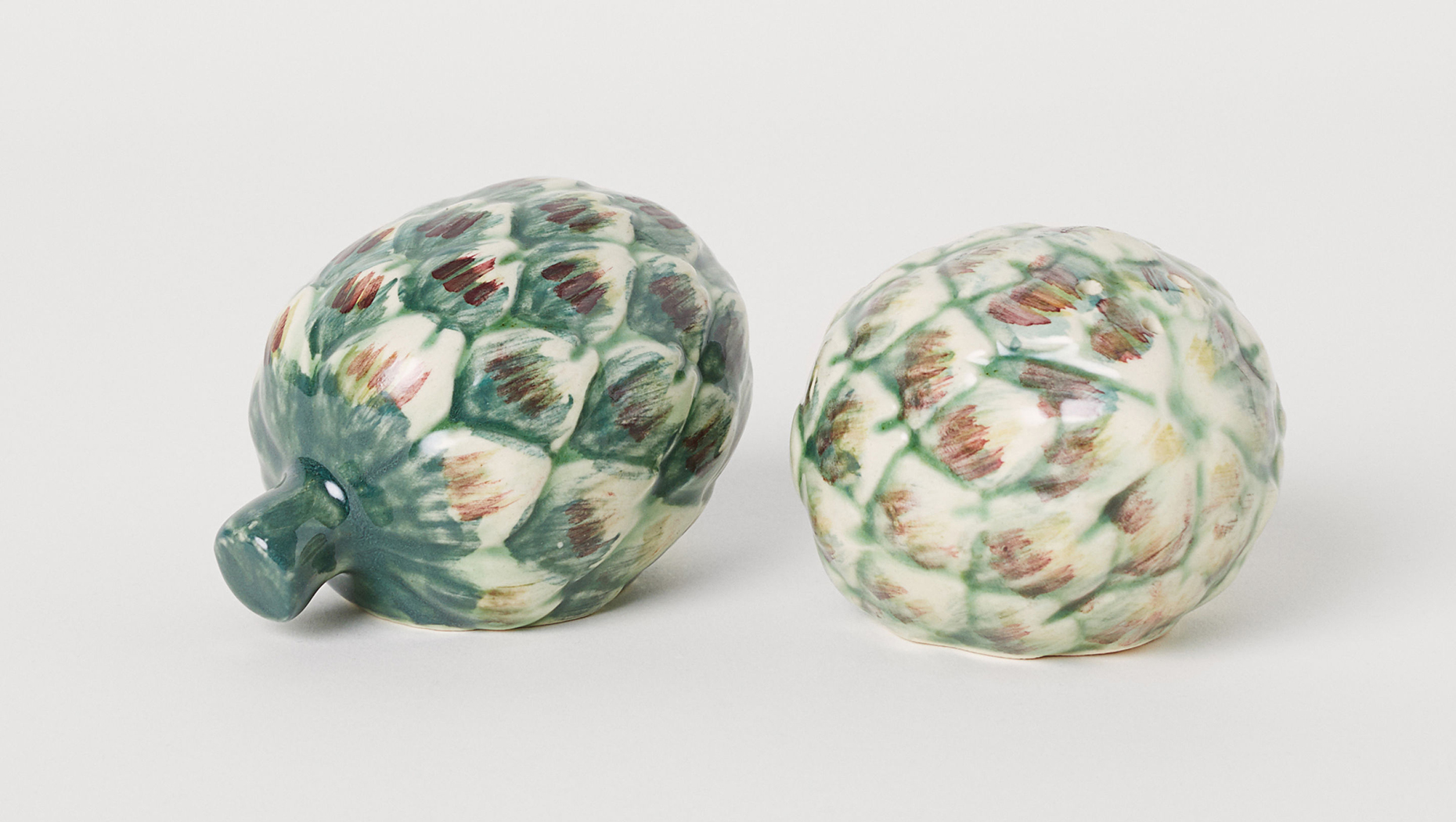 H&M Home artichoke salt and pepper shakers