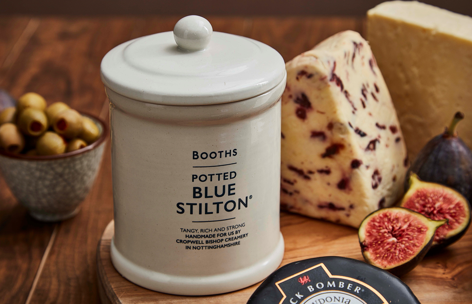 Booths potted stilton