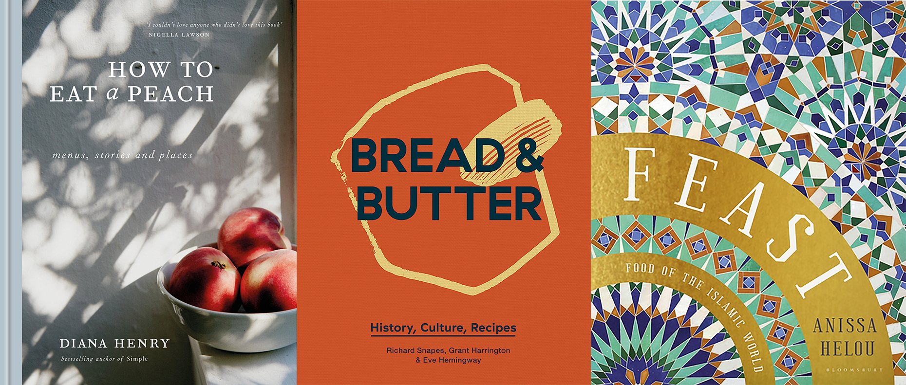 Best food prose and culture books