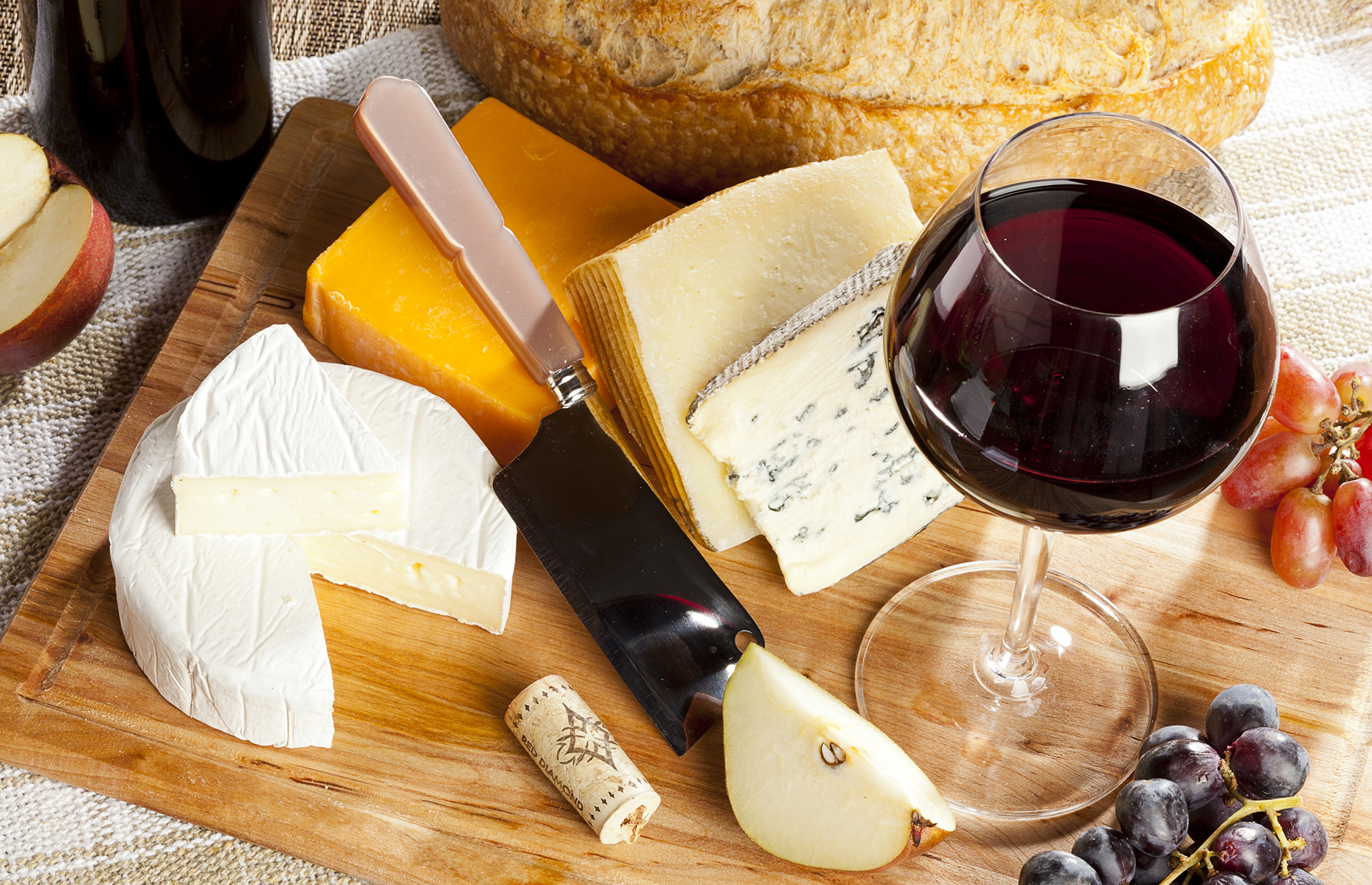 What to drink with your cheeseboard
