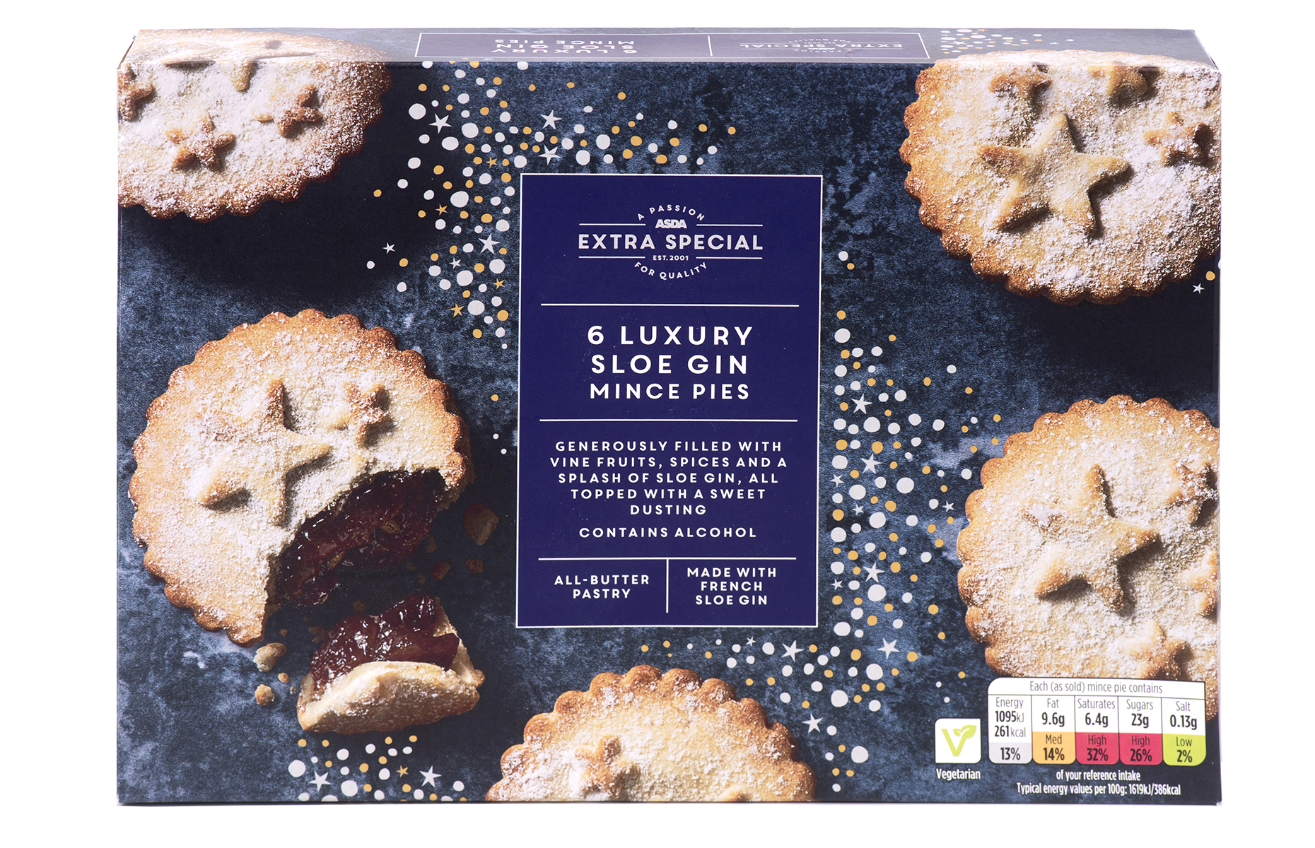 ASDA Extra Special sloe gin mince pies