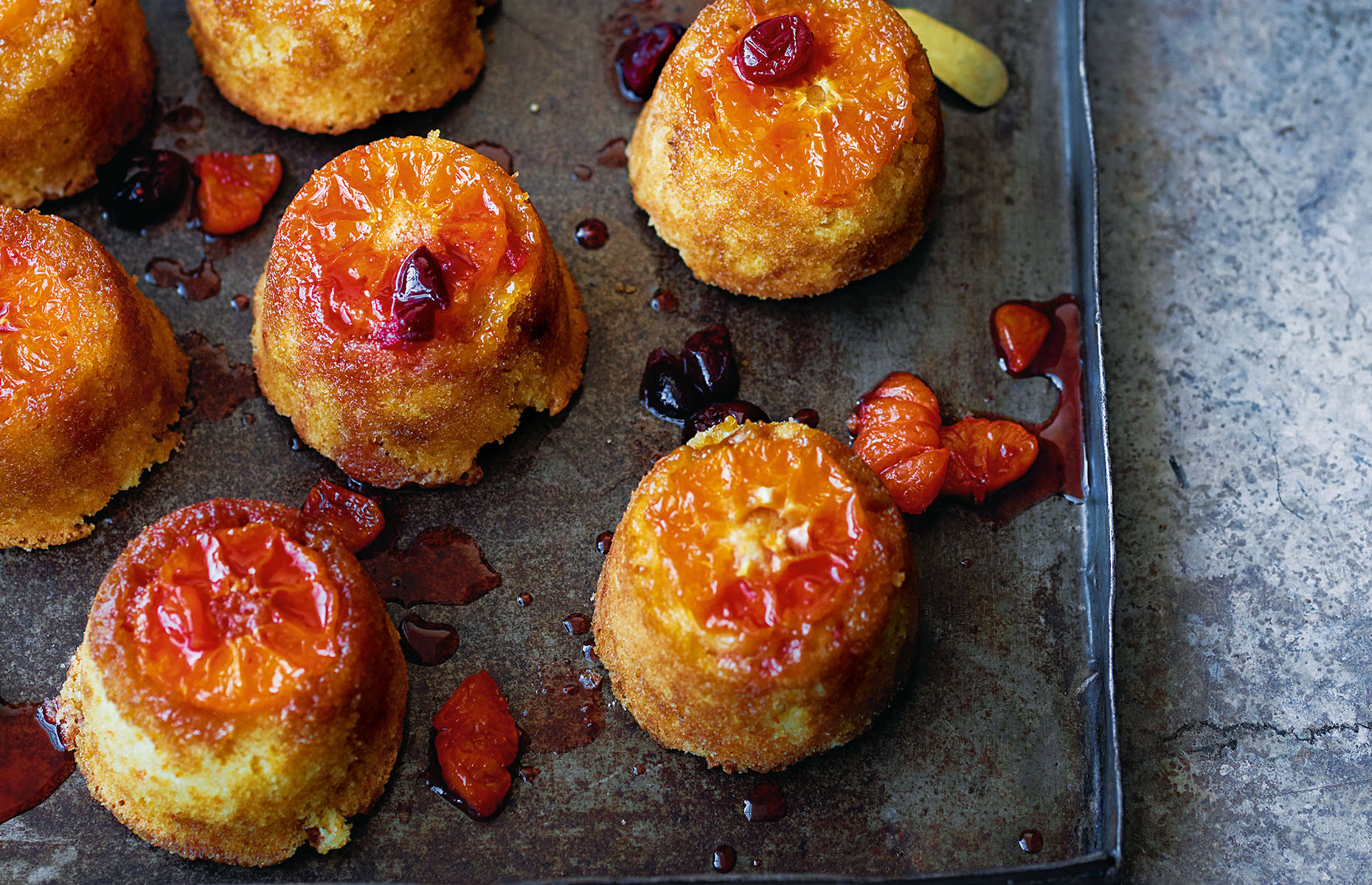 Clementine sponges