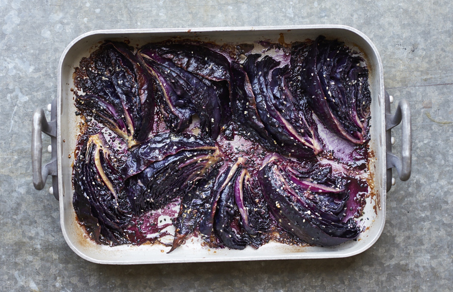 Miso red cabbage