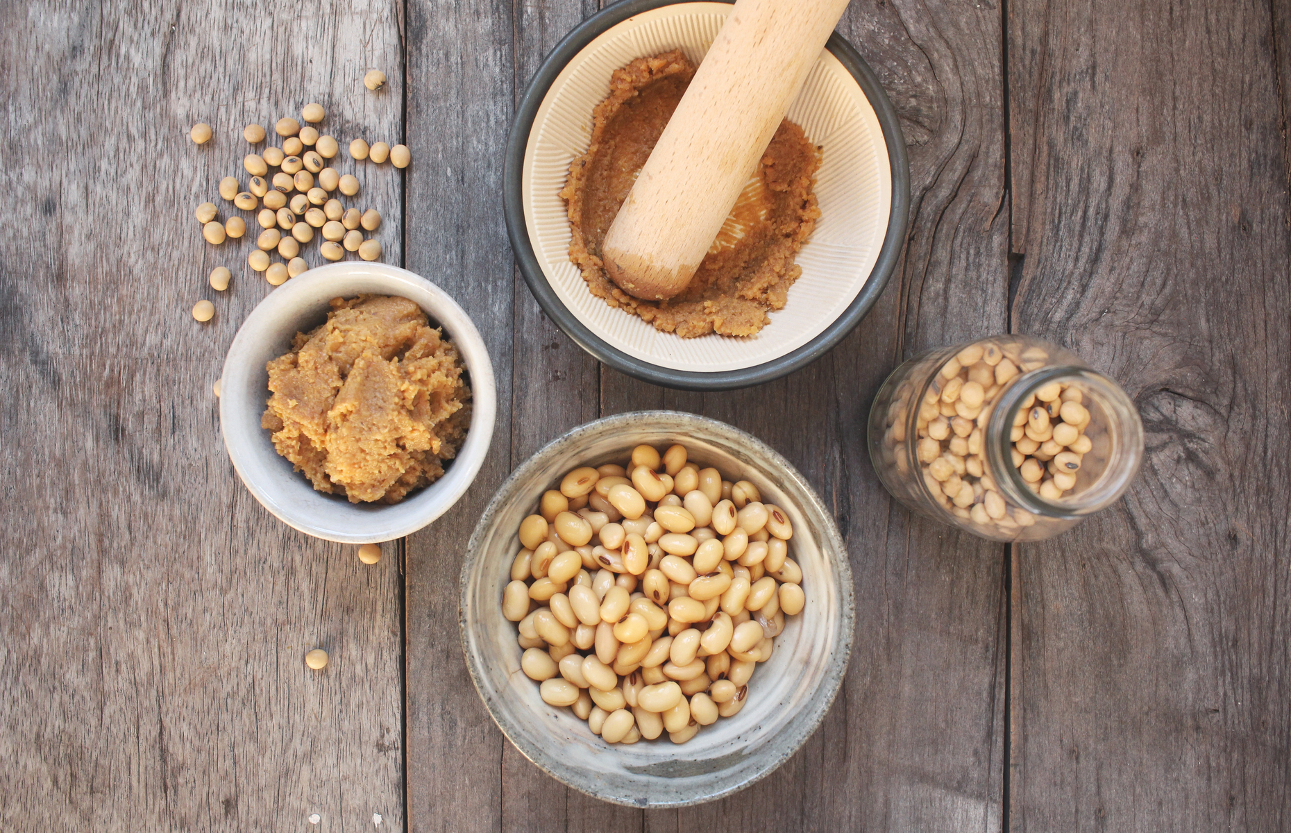 What is miso soy beans